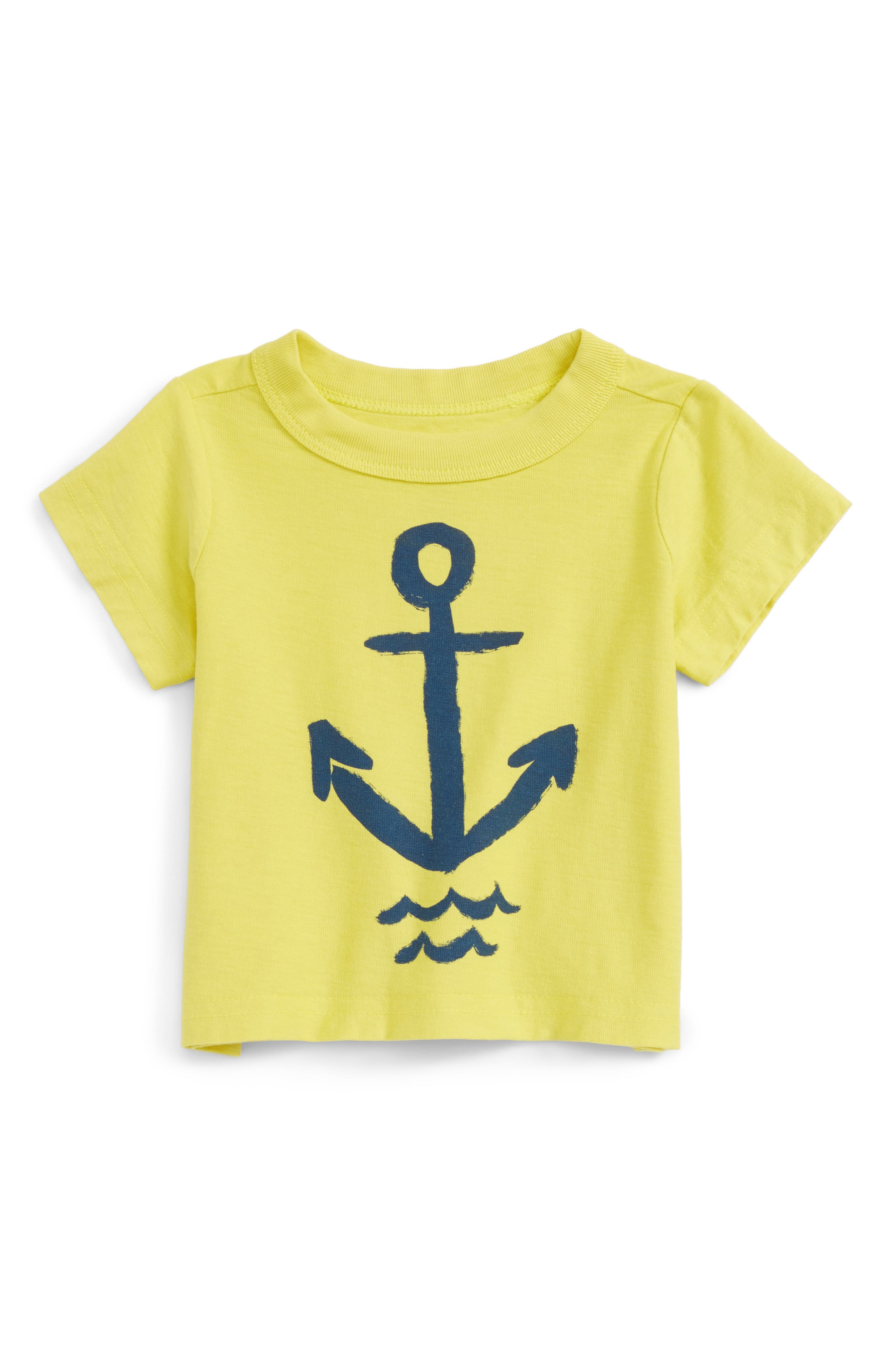 Tea Collection Augustus Graphic T-Shirt (Baby Boys)