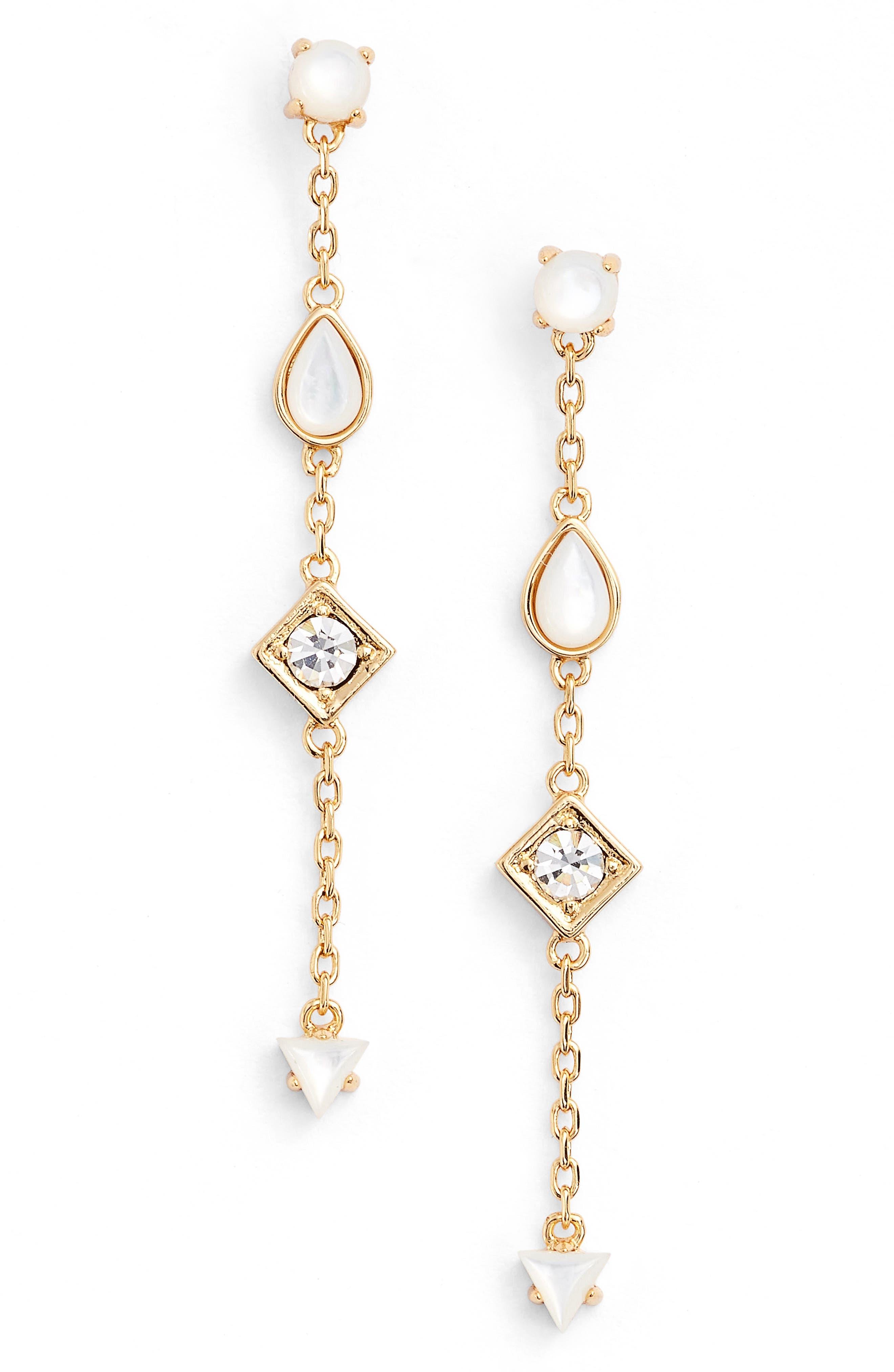 Jules Smith Dawson Crystal Drop Earrings
