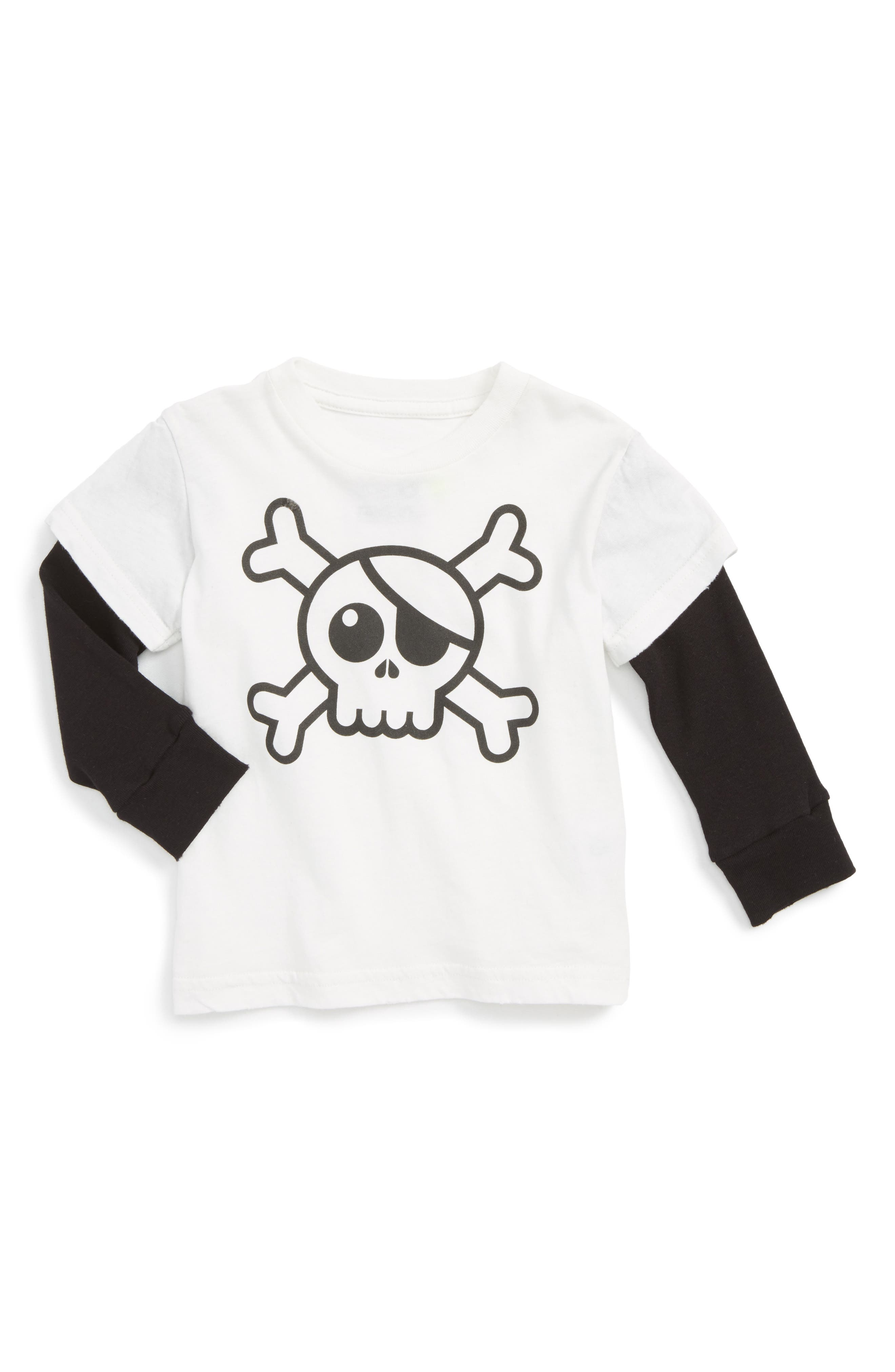 NUNUNU Skull Graphic T-Shirt (Baby)