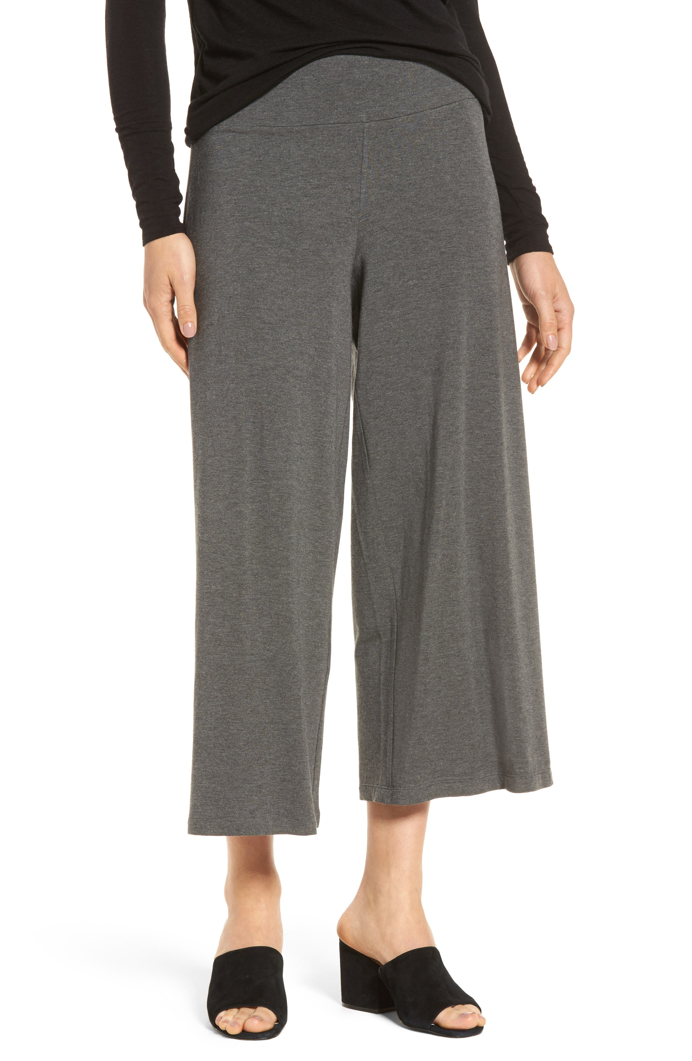 Eileen Fisher Wide Leg Crop Pants