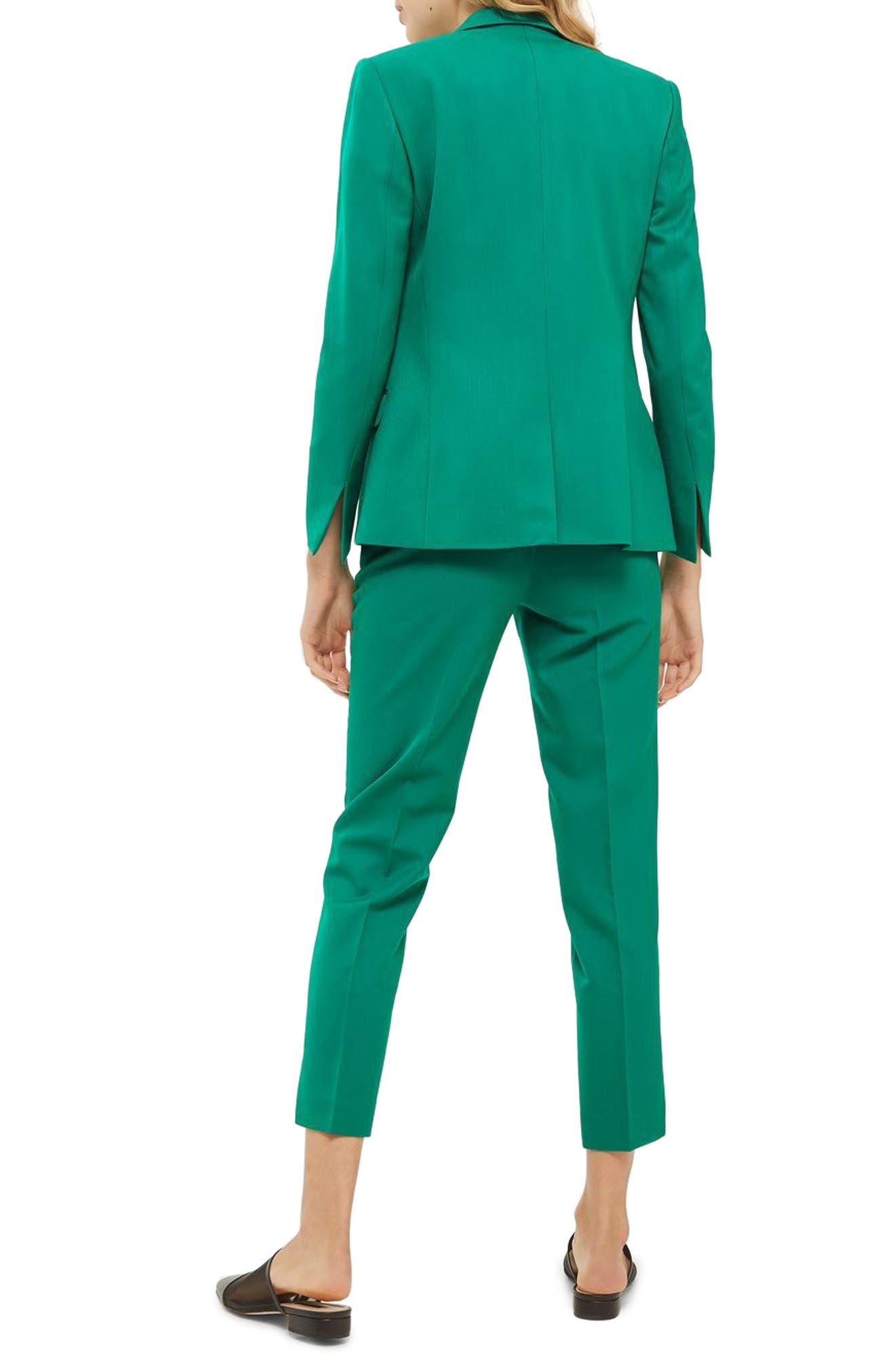 Alternate Image 2  - Topshop Tailored Cigarette Trousers (Regular & Petite)