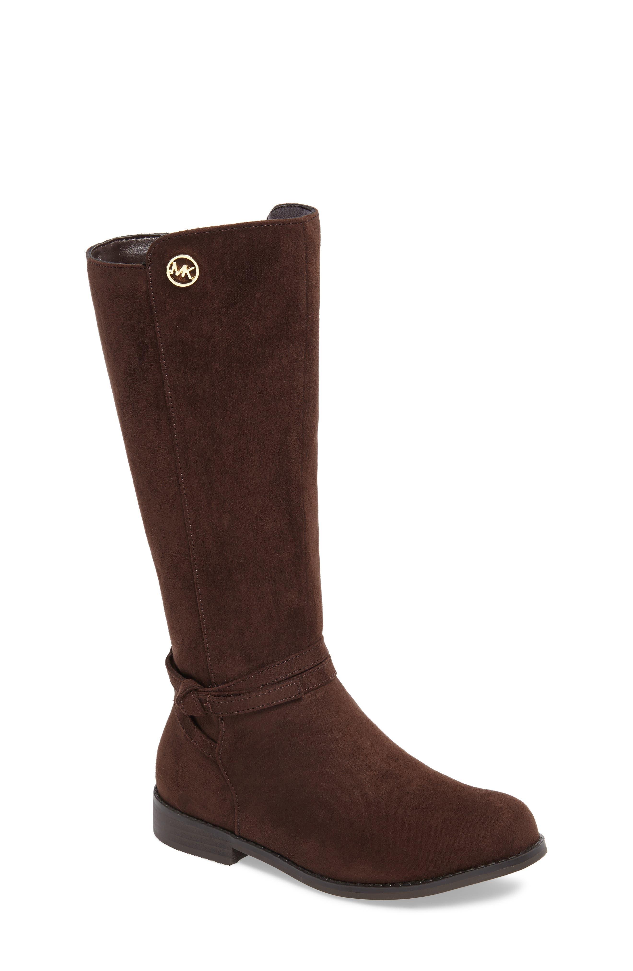 MICHAEL Michael Kors Emma Carter Knotted Boot (Walker, Toddler, Little Kid & Big Kid)