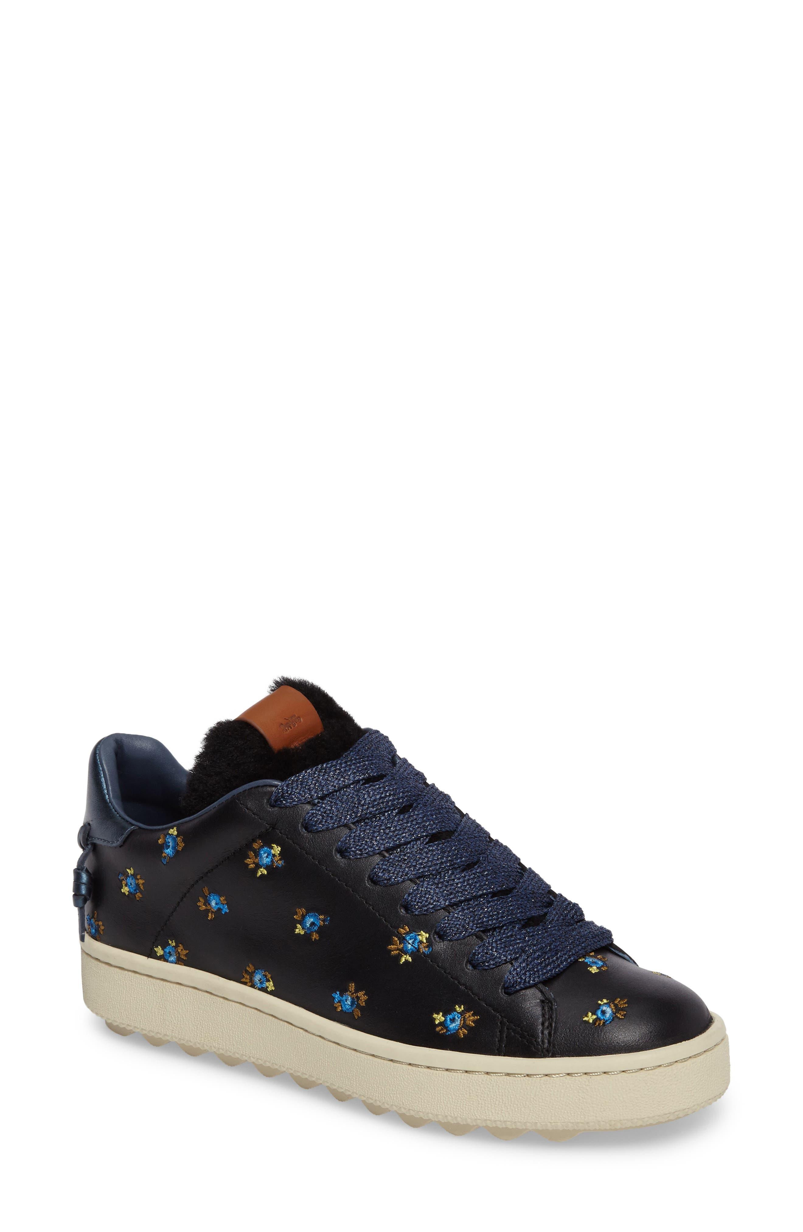 COACH Prairie Embroidered Sneaker (Women)