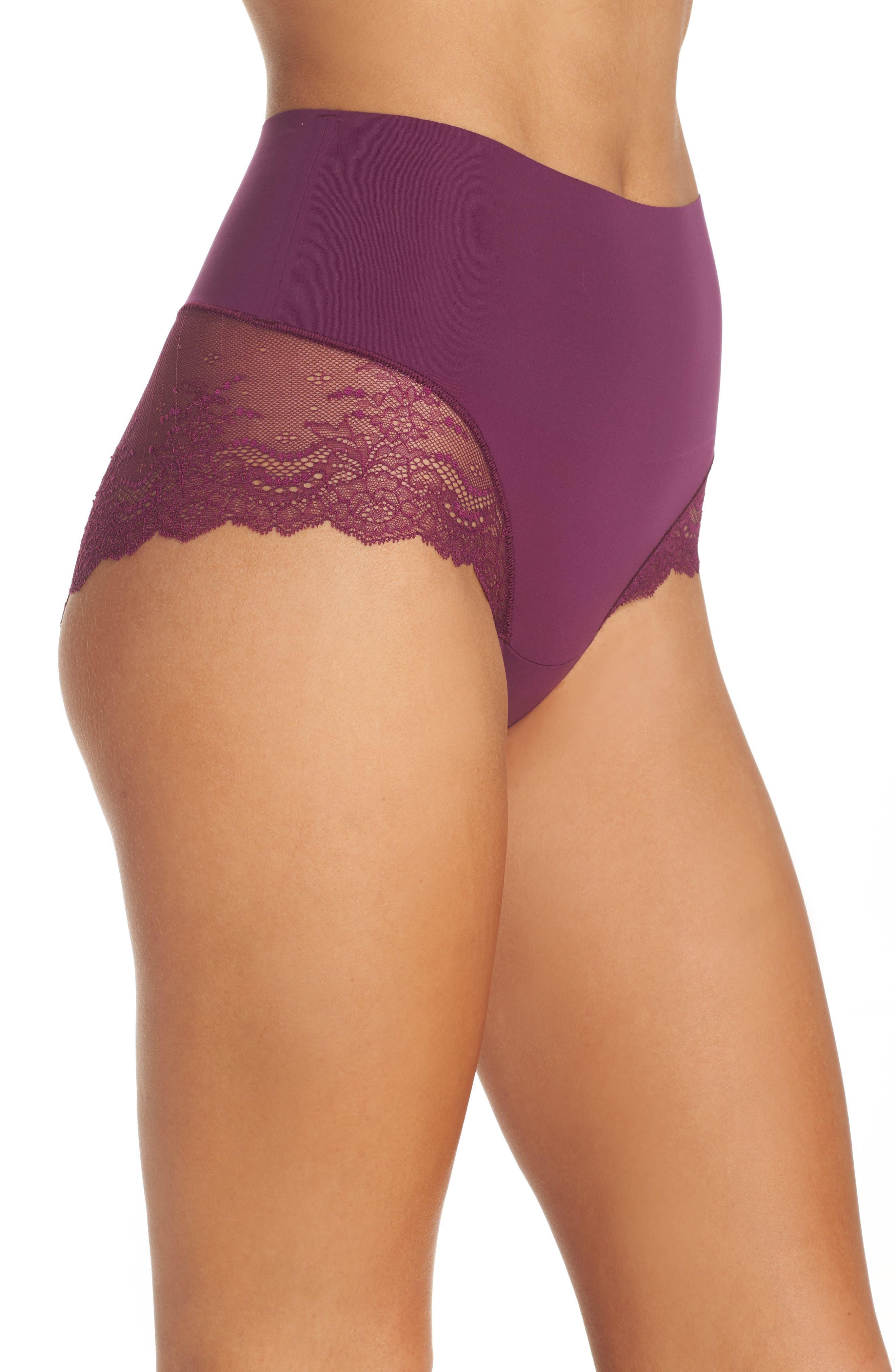 Alternate Image 3  - SPANX® Undie-tectable Lace Hipster Panties