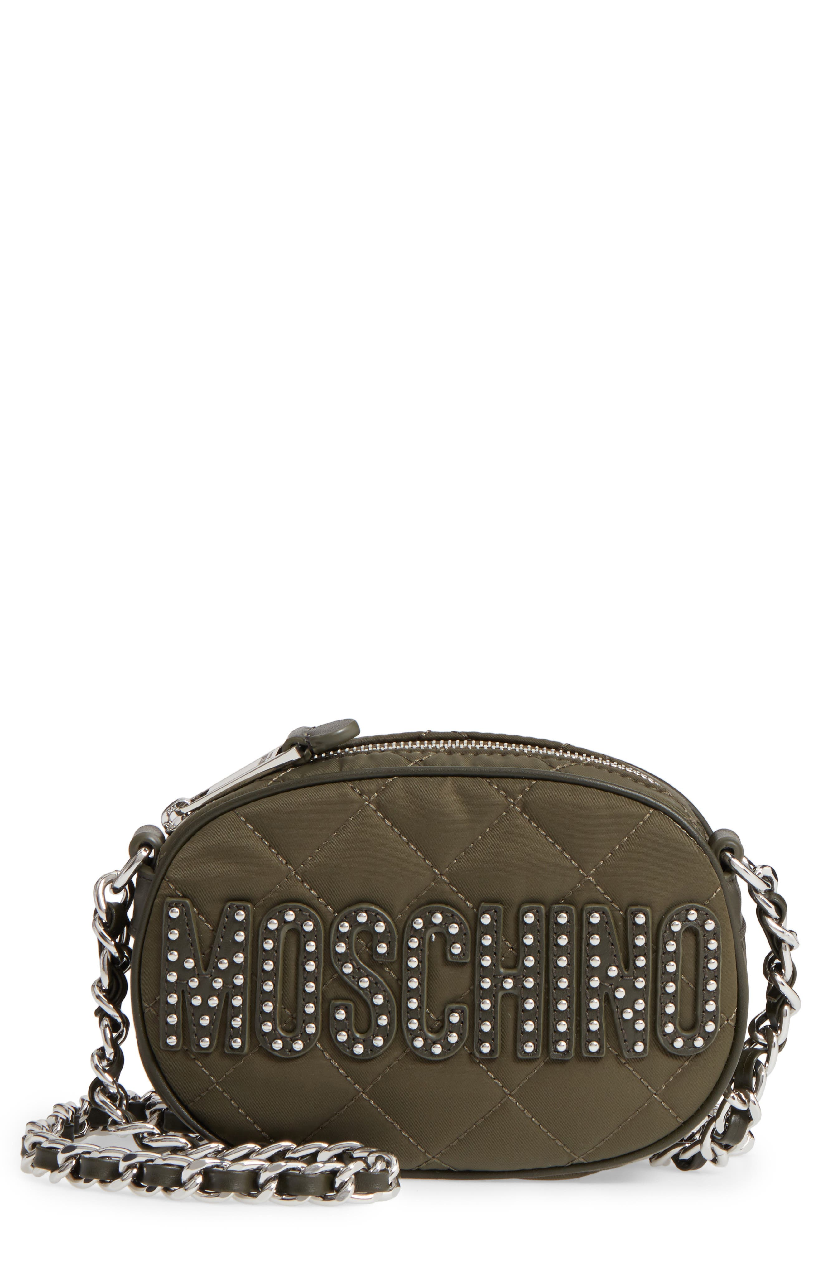 Moschino Small Quilted Camera Bag