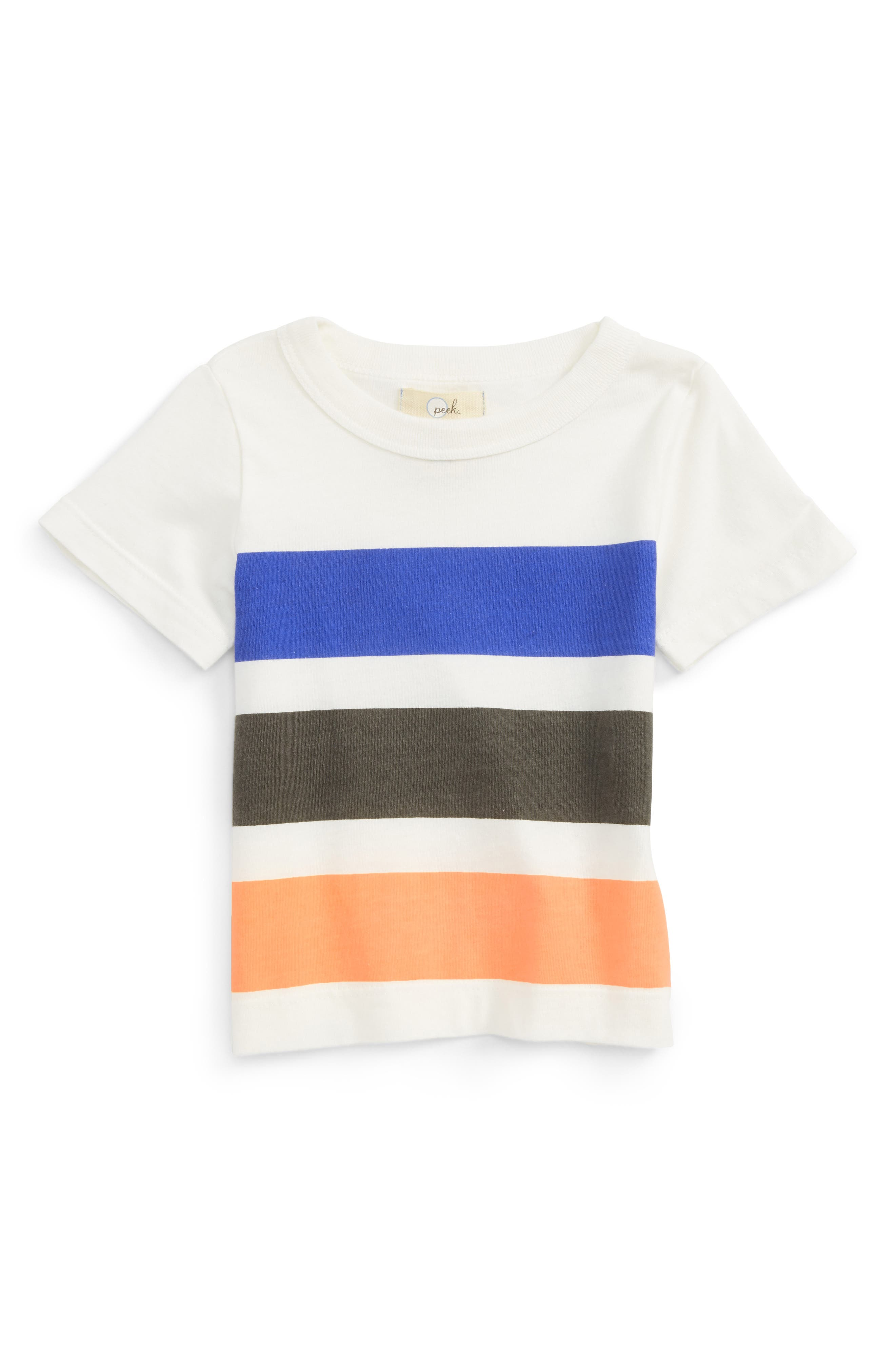 Peek Quinn Stripe T-Shirt (Baby Boys)