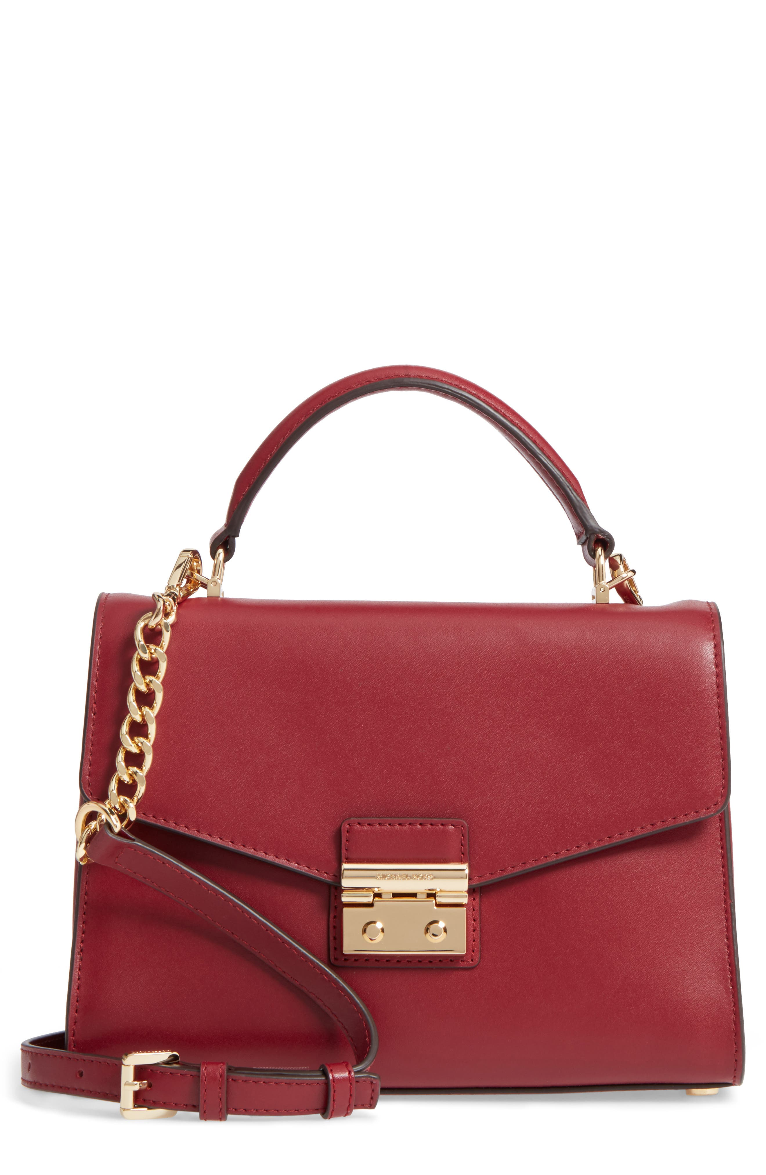 MICHAEL Michael Kors Medium Sloan Leather Satchel