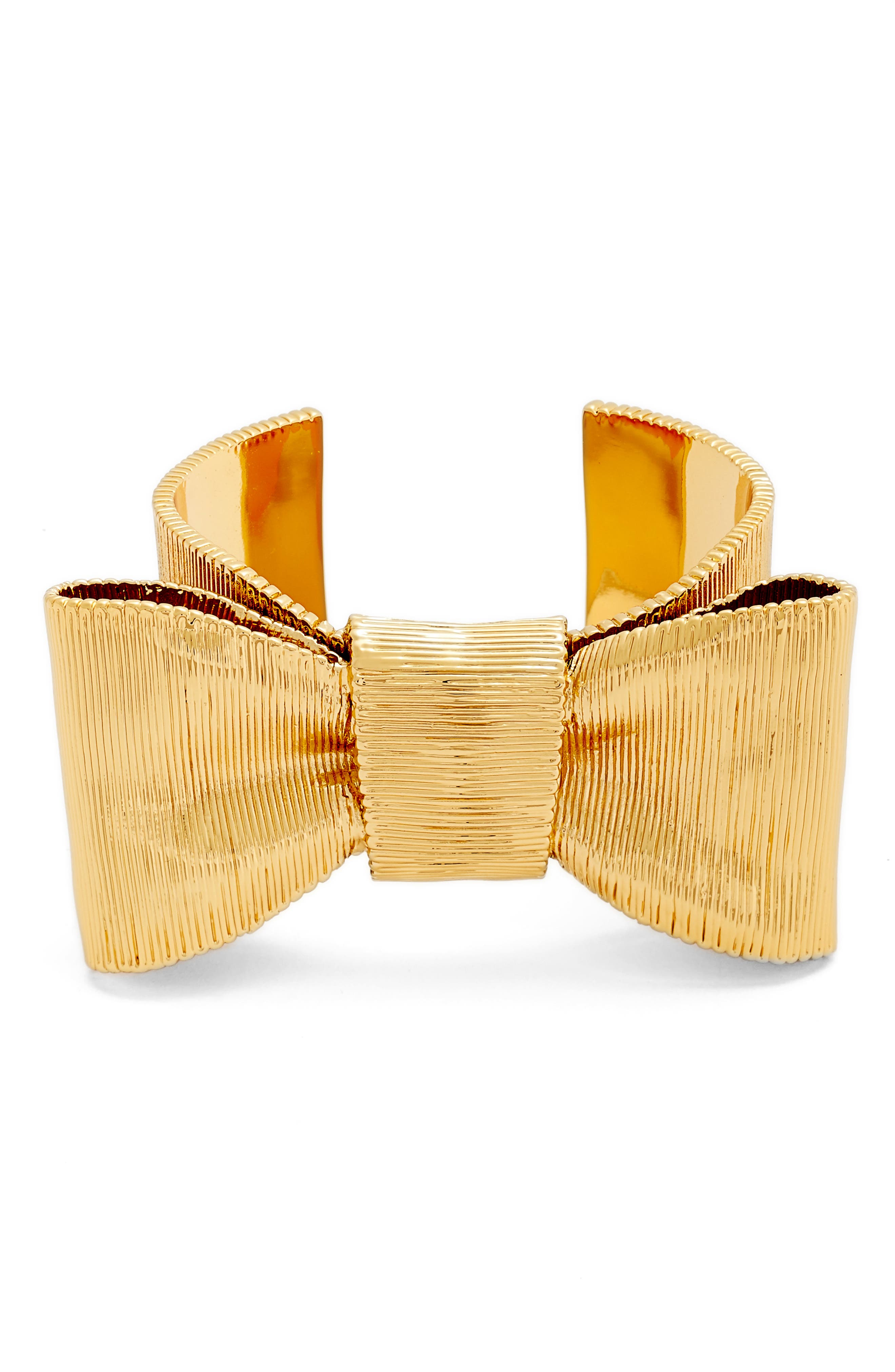 kate spade new york all wrapped up wide cuff