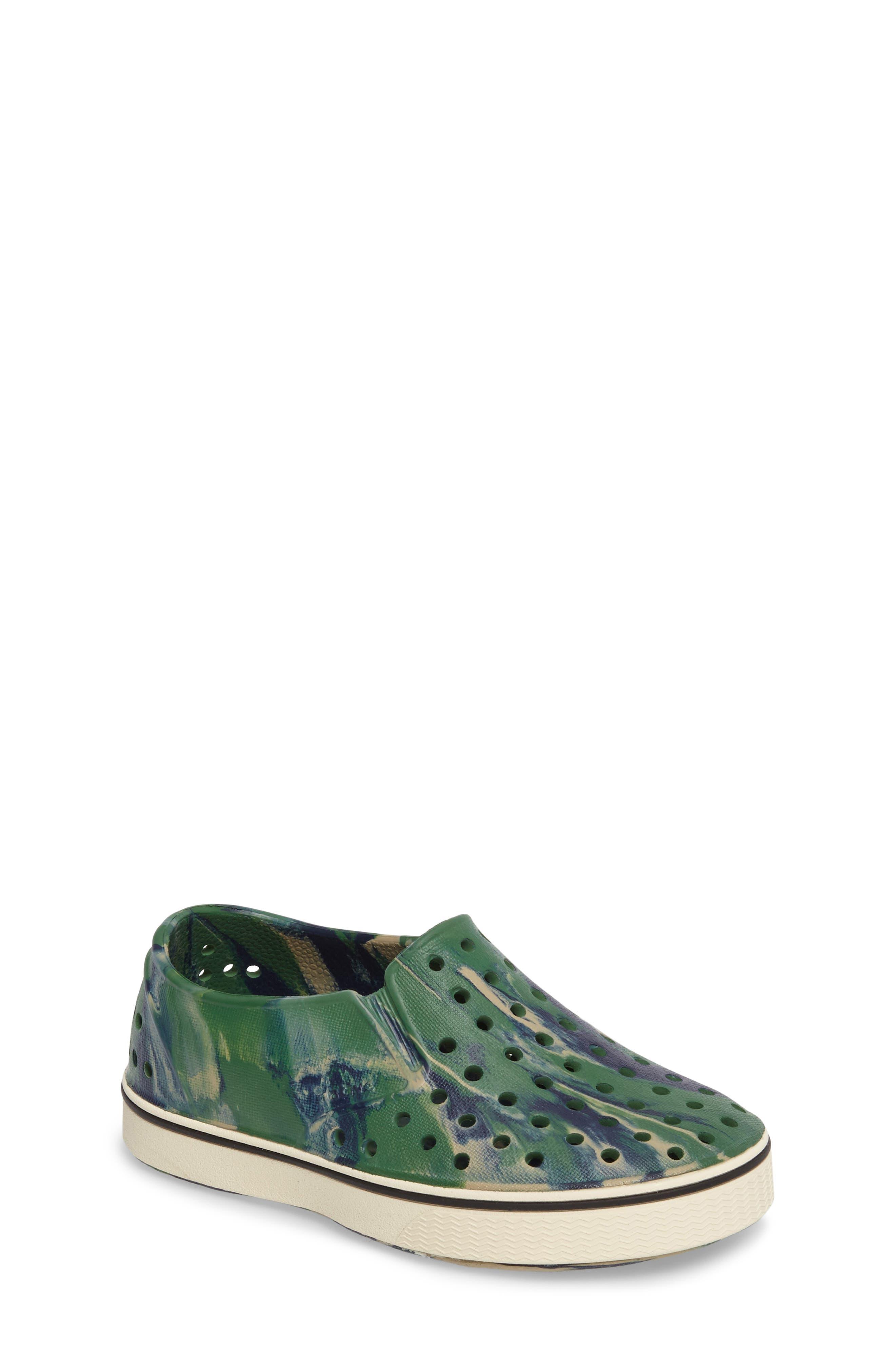 Native Shoes Miles Marbled Slip-On Sneaker (Baby, Walker, Toddler, Little Kid & Big Kid)