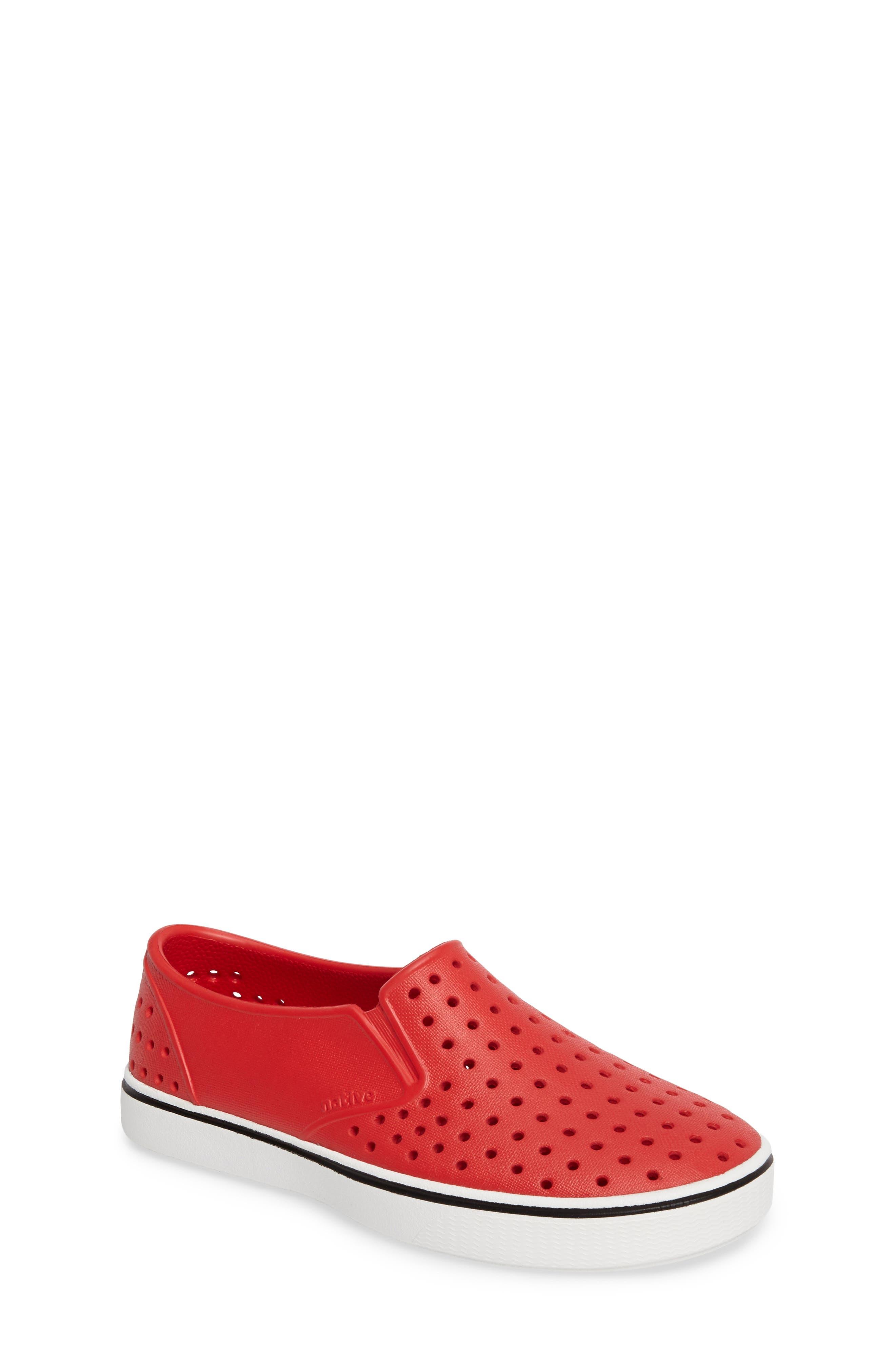 Native Shoes Miles Slip-On Sneaker (Little Kid)