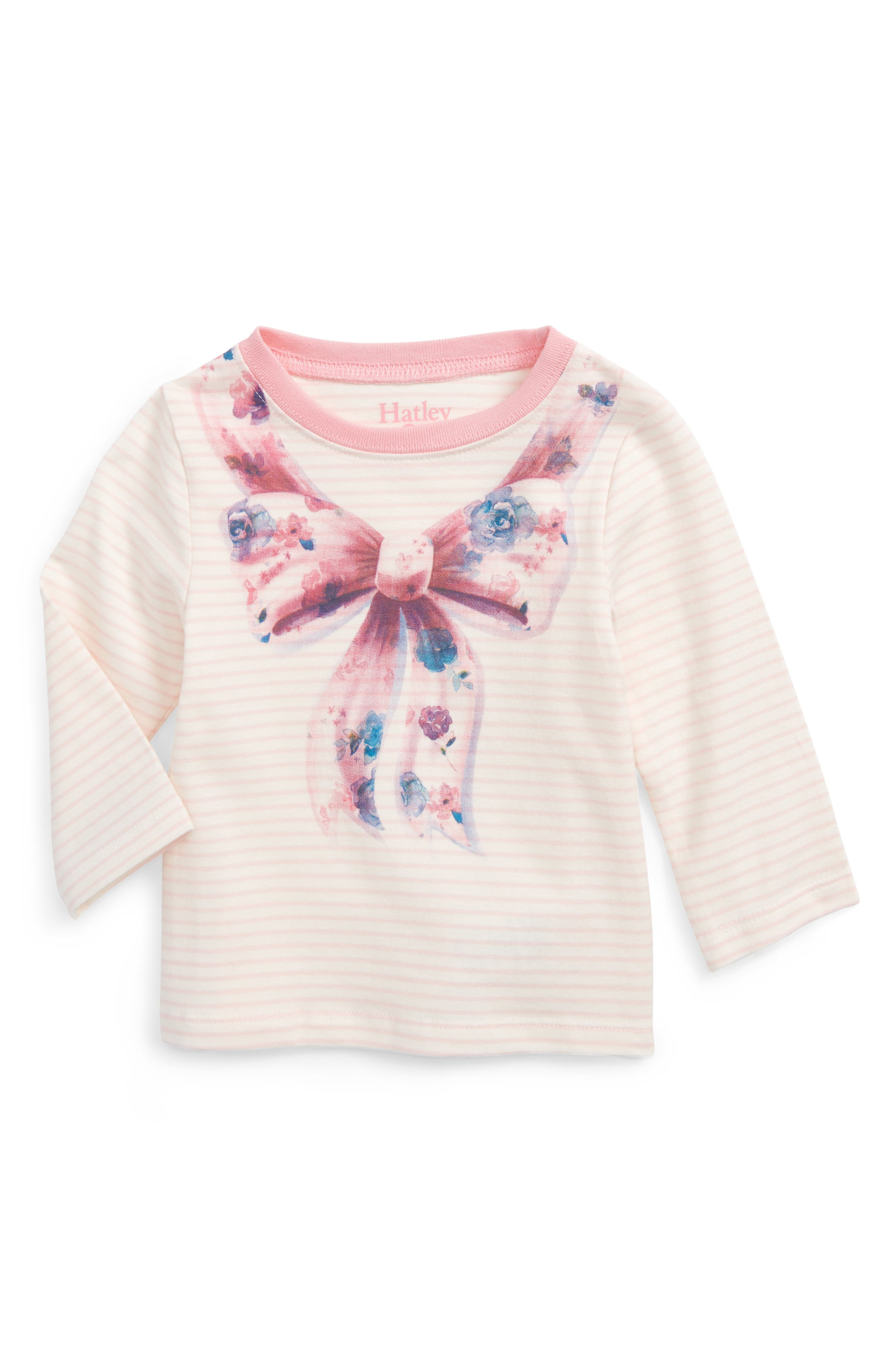 Hatley Graphic Long Sleeve Tee (Baby Girls)