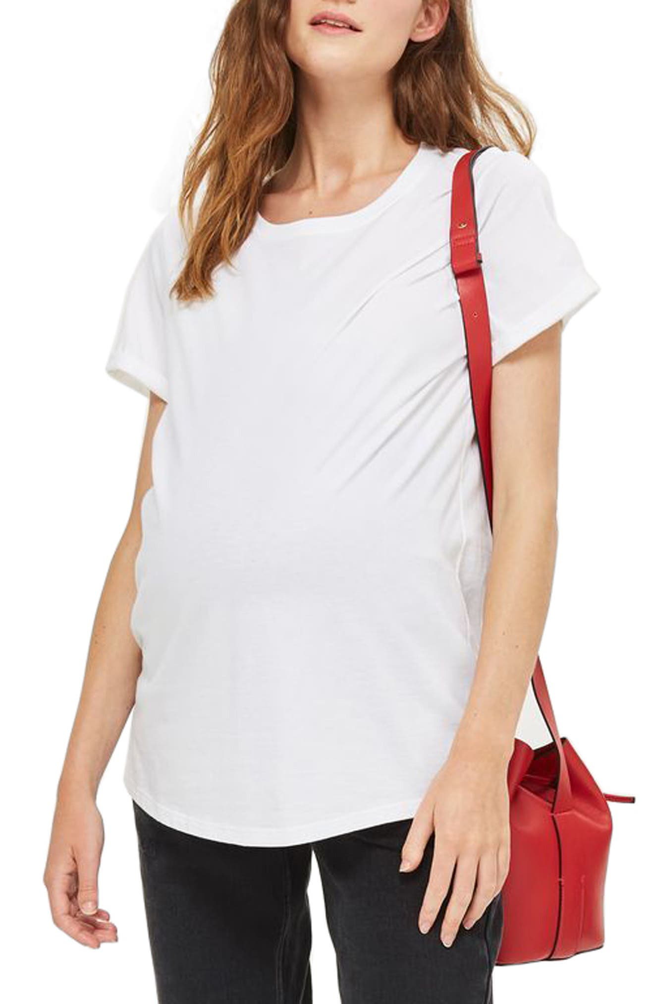 Topshop Roll Back Maternity Tee