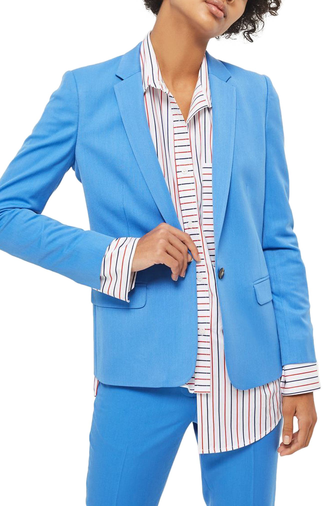 Topshop Tailored Suit Jacket (Regular & Petite)