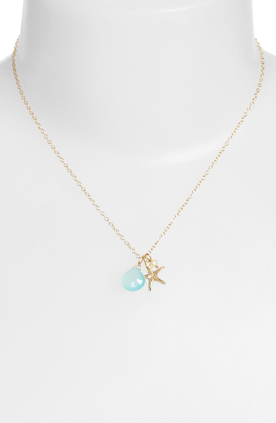 Alternate Image 2  - ki-ele Sea Star Cluster Pendant Necklace