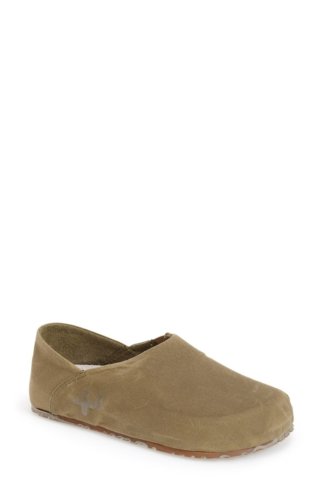 Alternate Image 1 Selected - OTZ Waxed Canvas Flat (Women)