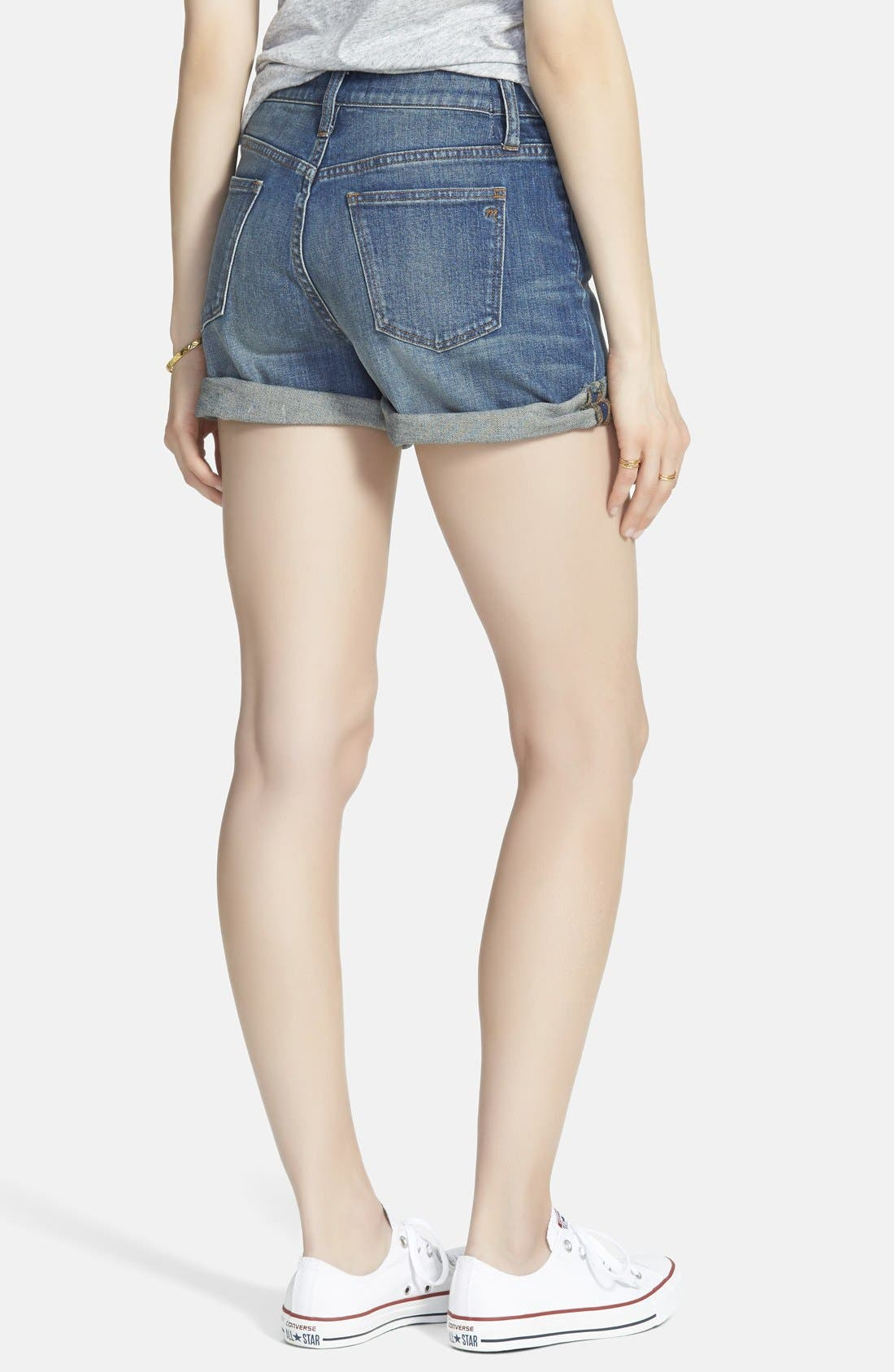 Alternate Image 2  - Madewell High Rise Denim Shorts (Denver)