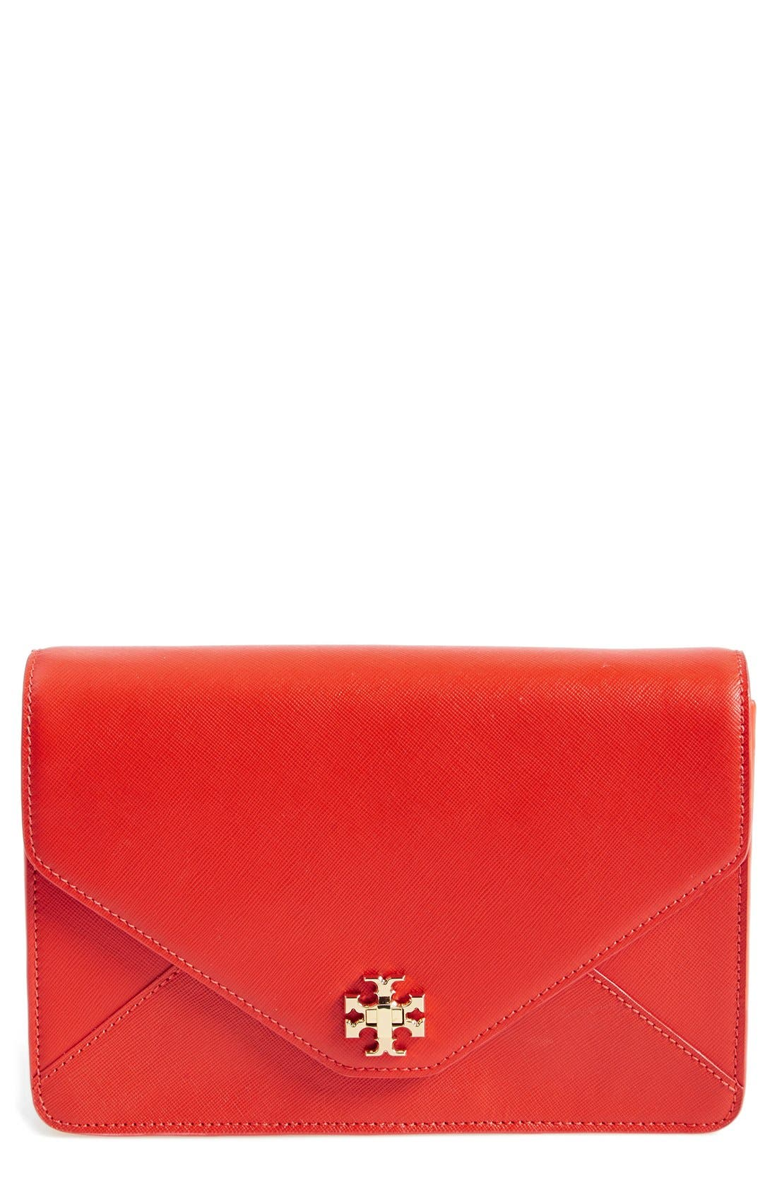 Main Image - Tory Burch 'Kira' Envelope Clutch