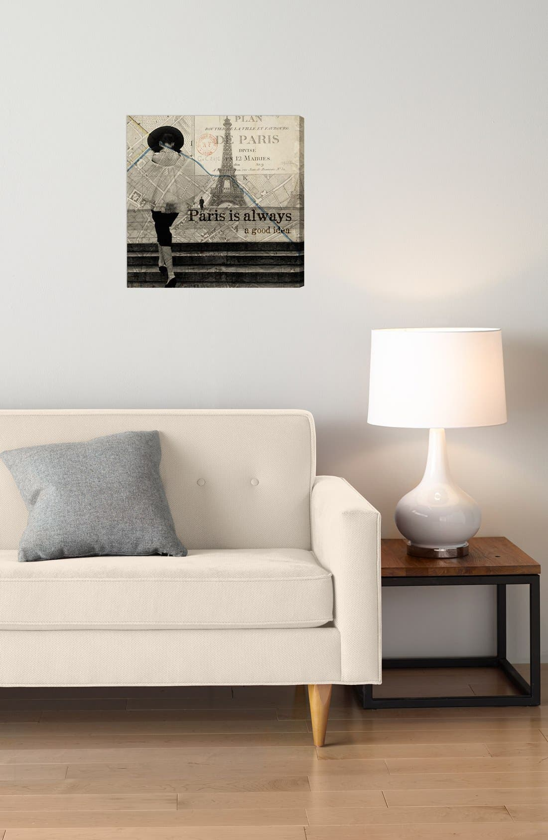 Alternate Image 2  - Oliver Gal 'Paris Is Always a Good Idea' Wall Art