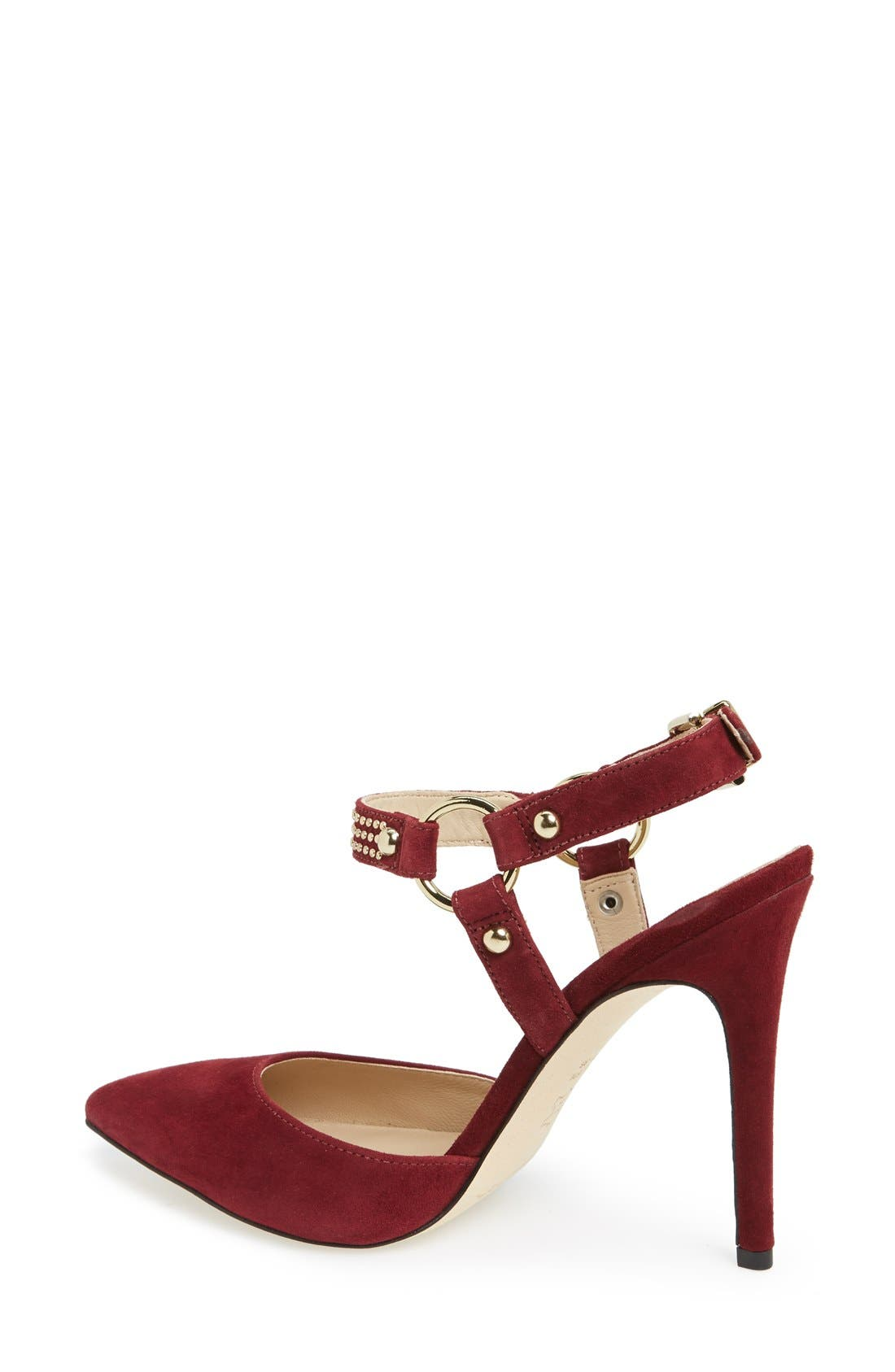 Alternate Image 2  - Via Spiga 'Flo' Pointy Toe Pump (Women)