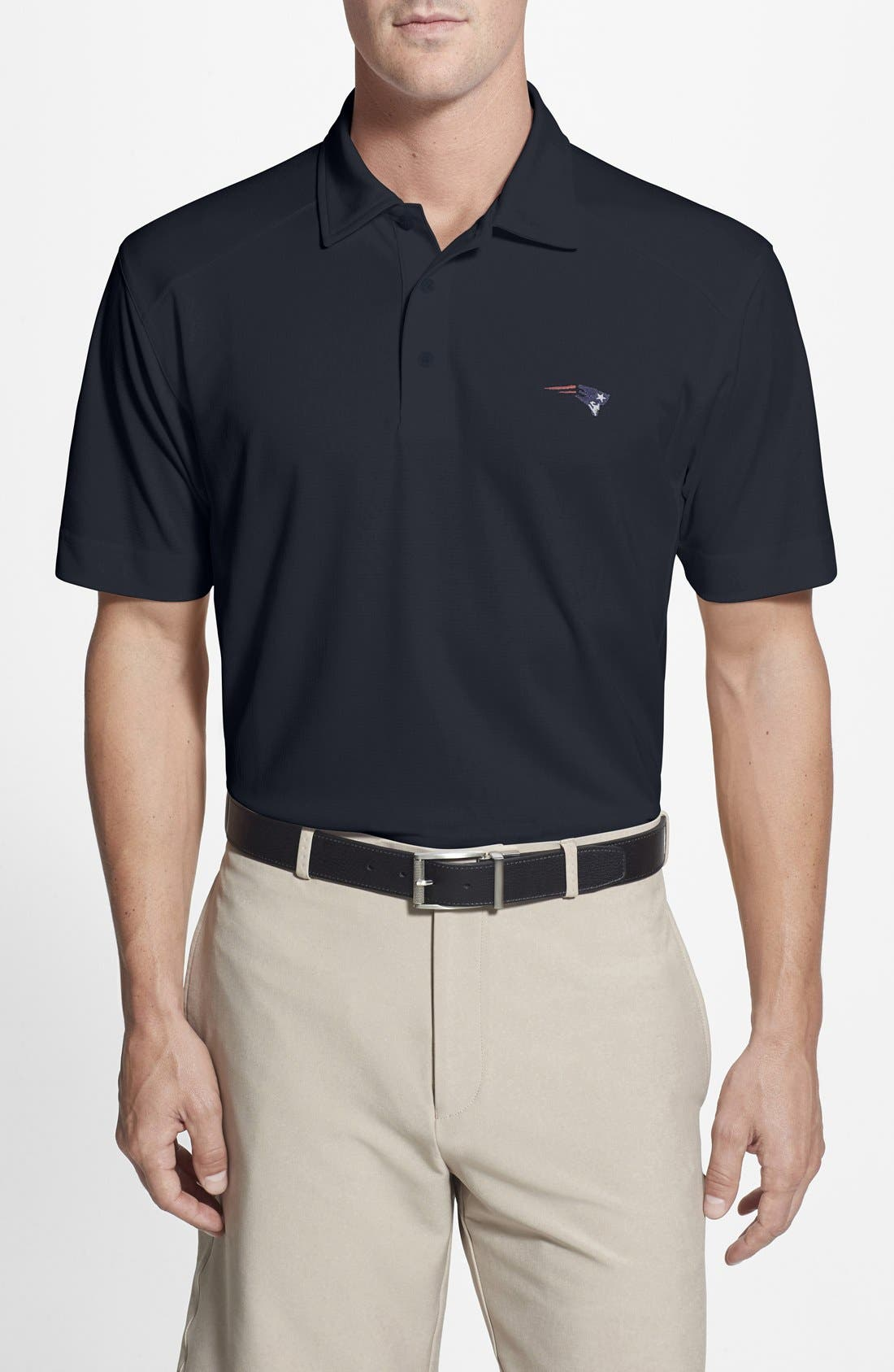 Cutter & Buck 'New England Patriots - Genre' DryTec Moisture Wicking Polo (Big & Tall)