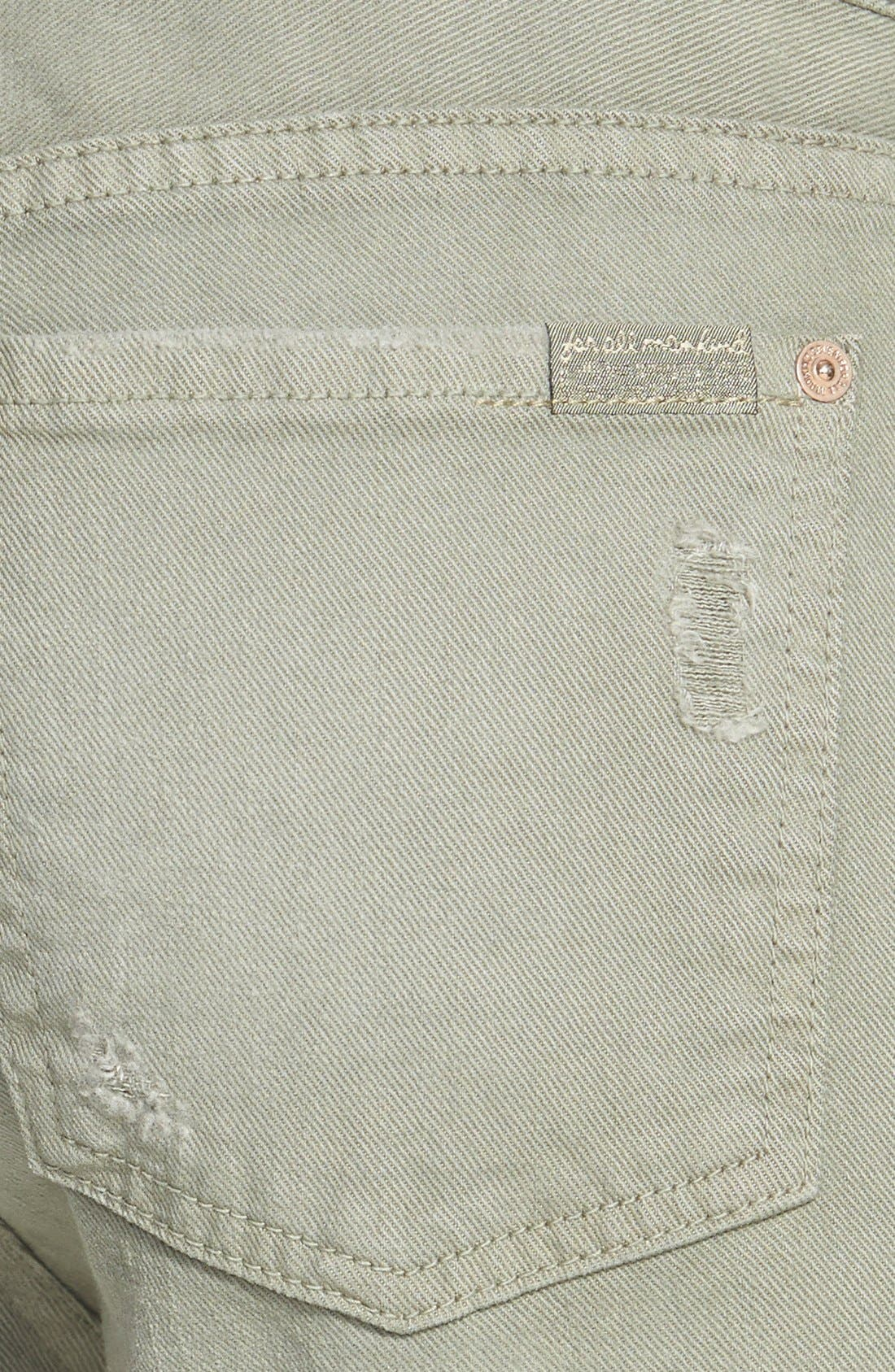 Alternate Image 3  - 7 For All Mankind® Relaxed Skinny Jeans (Fatigue)