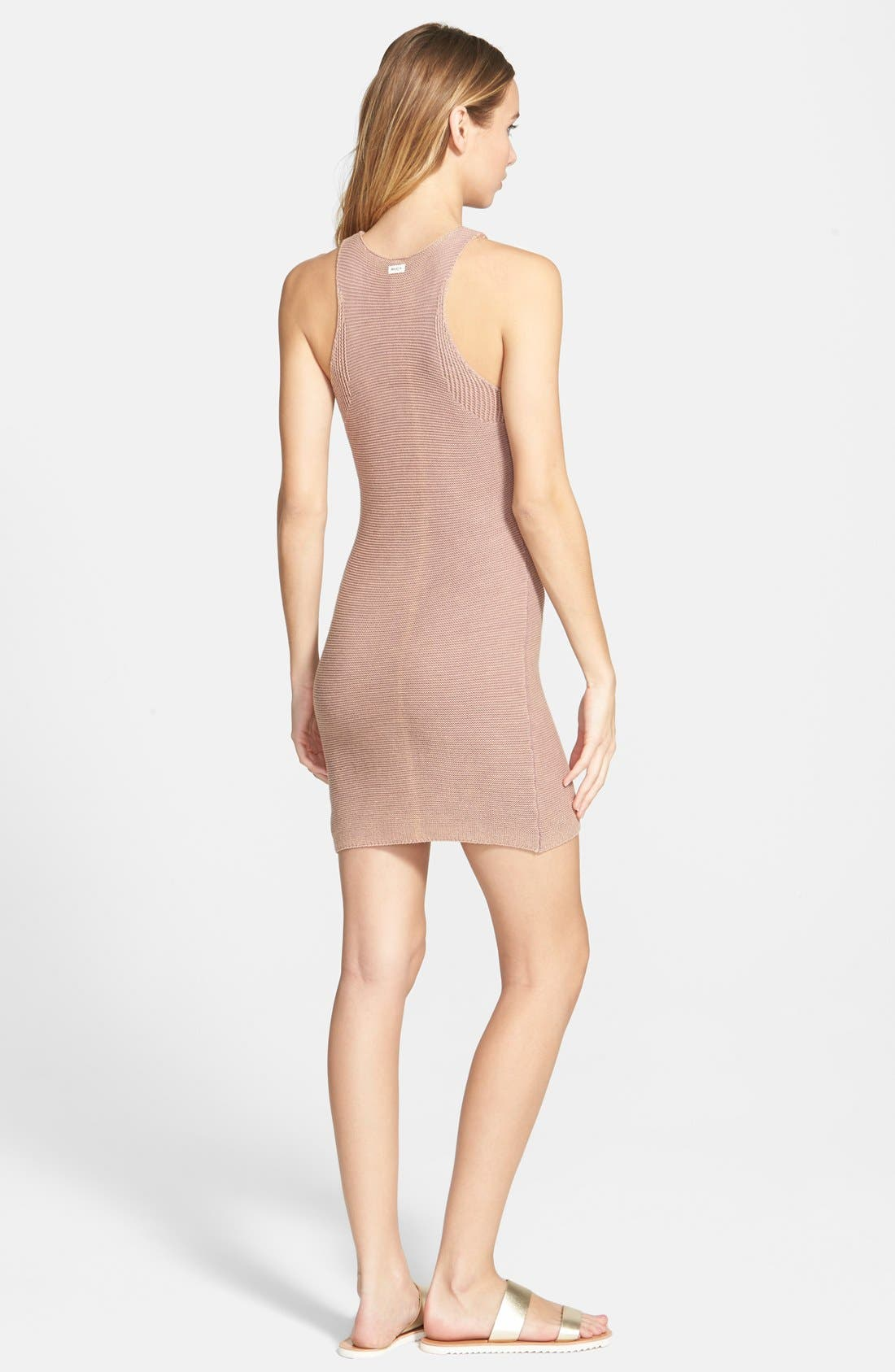 Alternate Image 2  - RVCA 'Camino Cruisin' Knit Dress