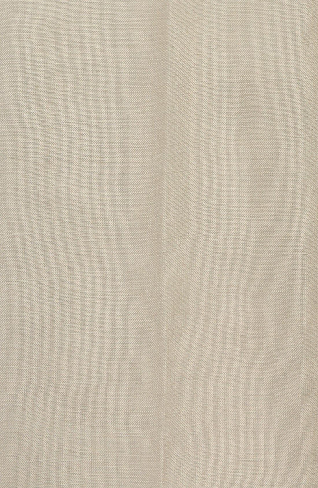 Alternate Image 2  - Nordstrom 'Quentin' Linen Blend Trousers (Toddler Boys, Little Boys & Big Boys)