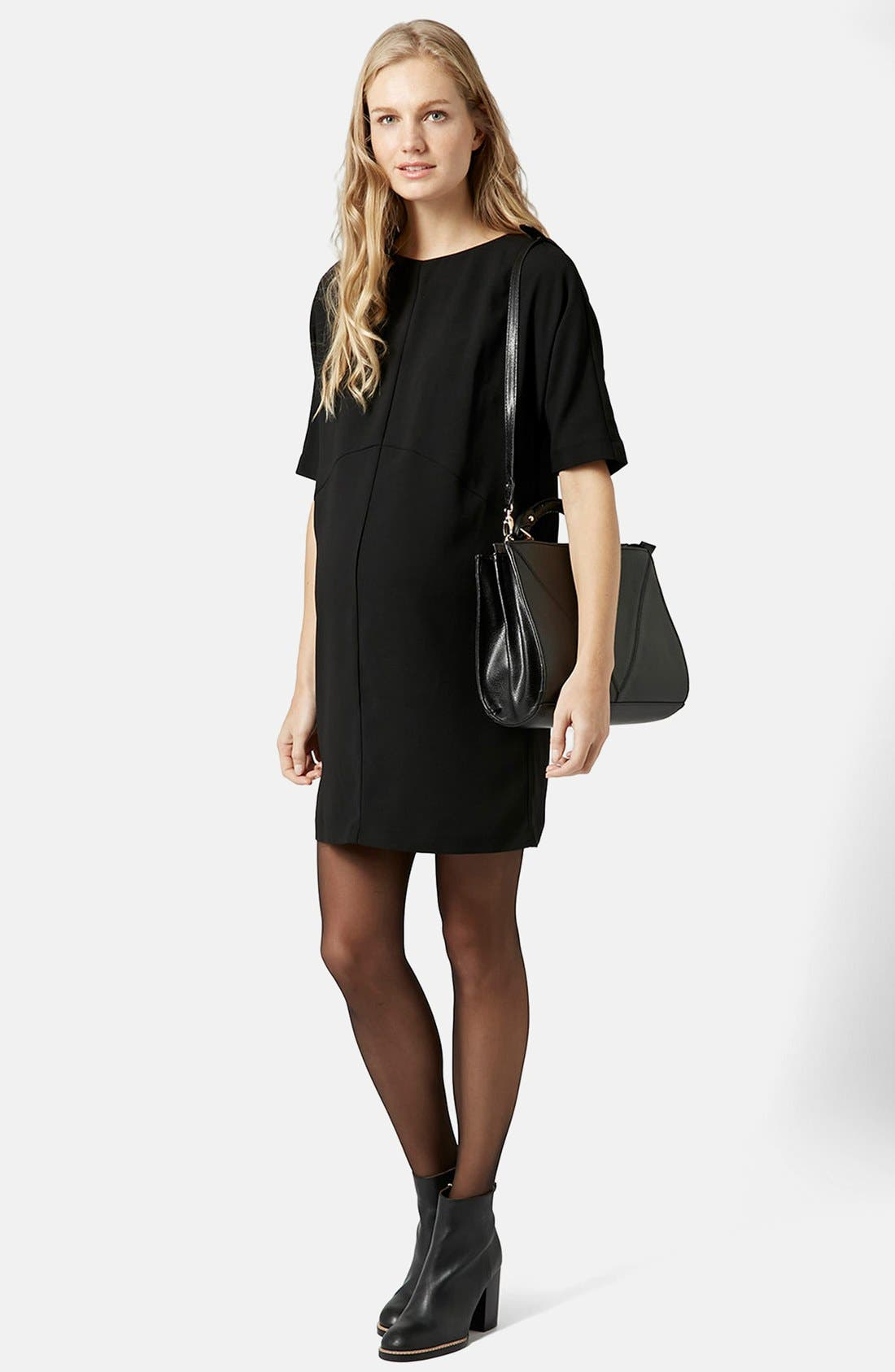 Alternate Image 3  - Topshop Oversize Maternity Shift Dress
