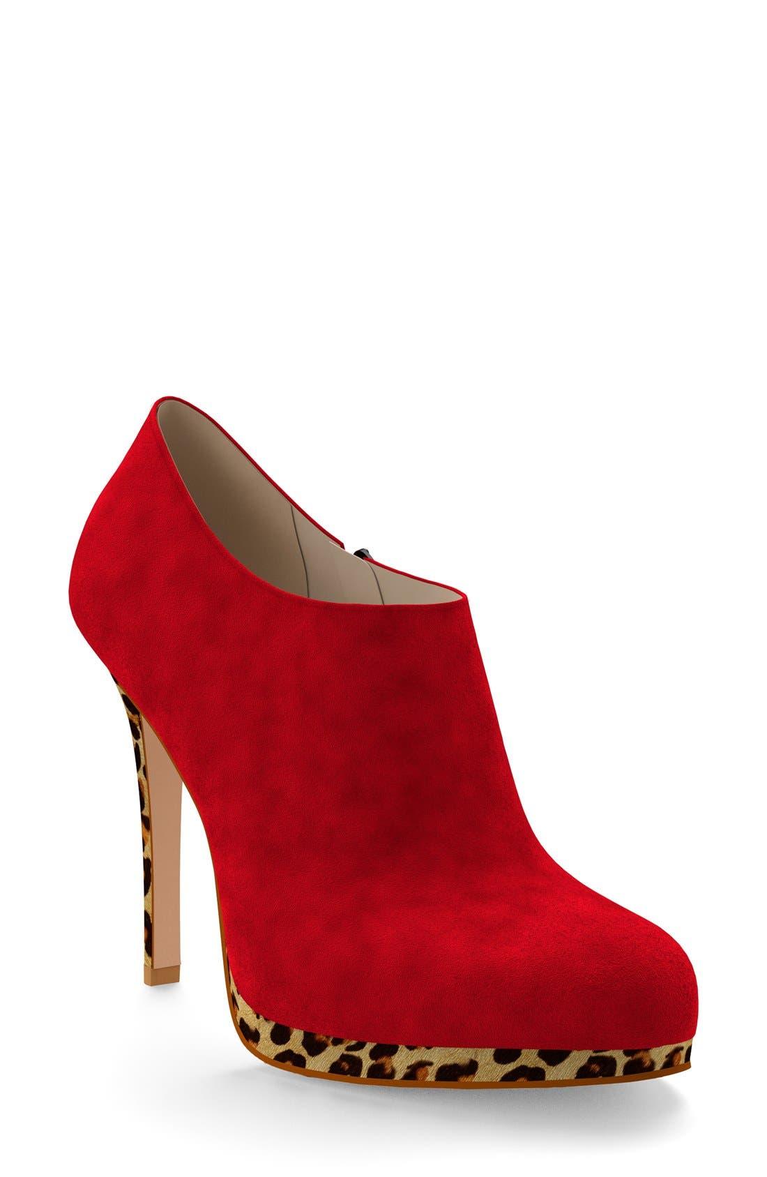 Main Image - Shoes of Prey Platform Bootie (Women) (Nordstrom Exclusive)