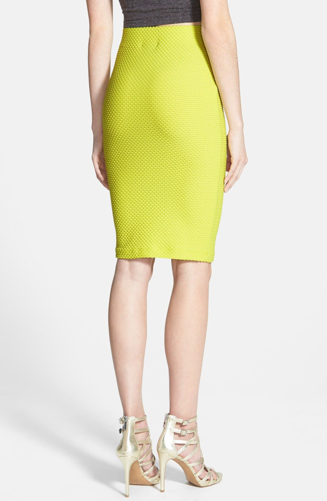 Alternate Image 2  - ASTR Textured Pencil Skirt