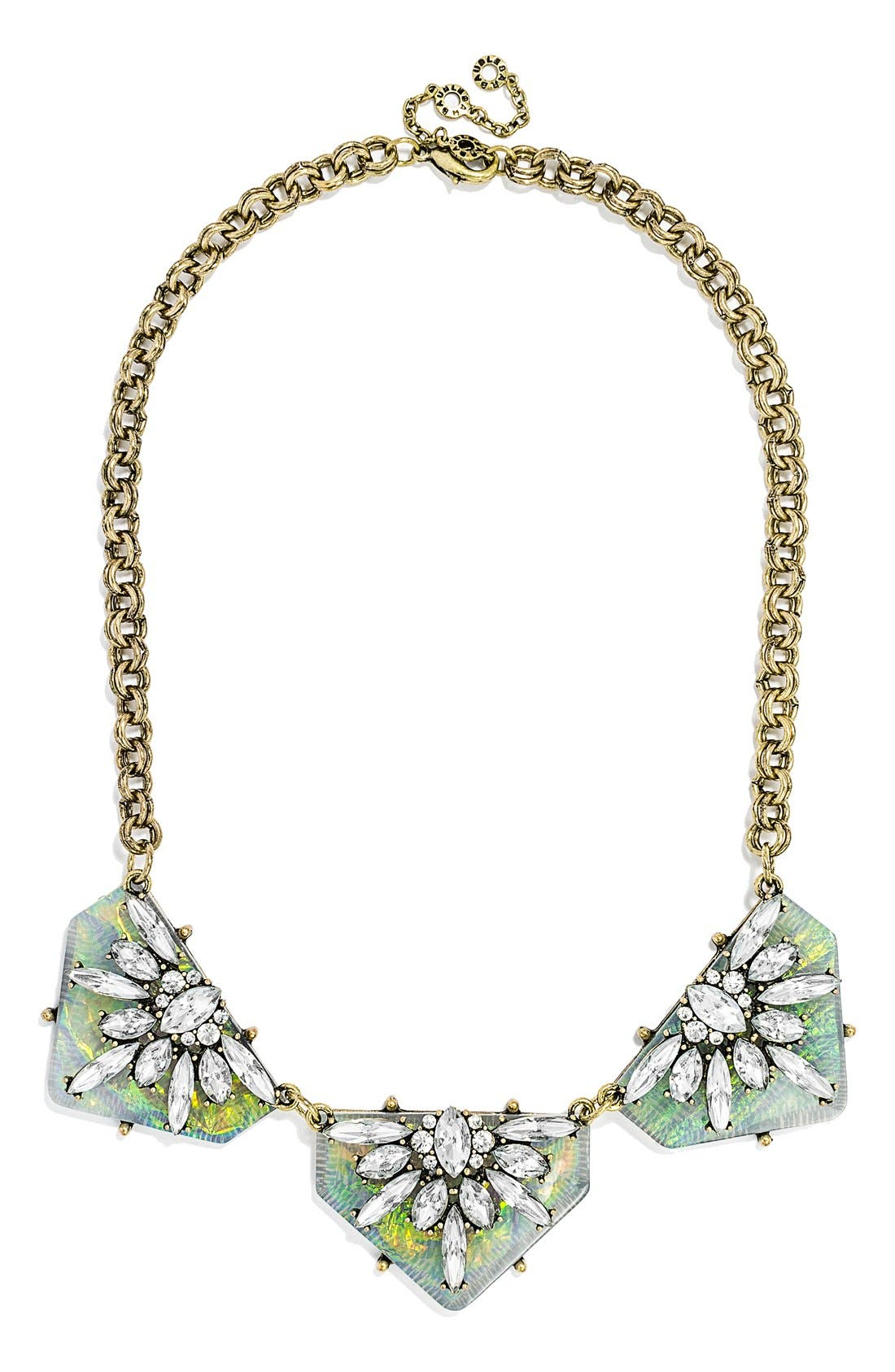 Alternate Image 1 Selected - BaubleBar 'Crystal Prism' Collar Necklace