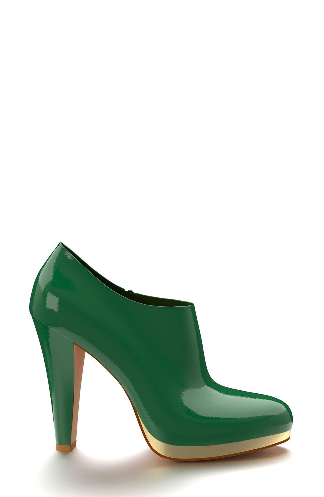 Alternate Image 3  - Shoes of Prey  Platform Ankle Boot (Women)
