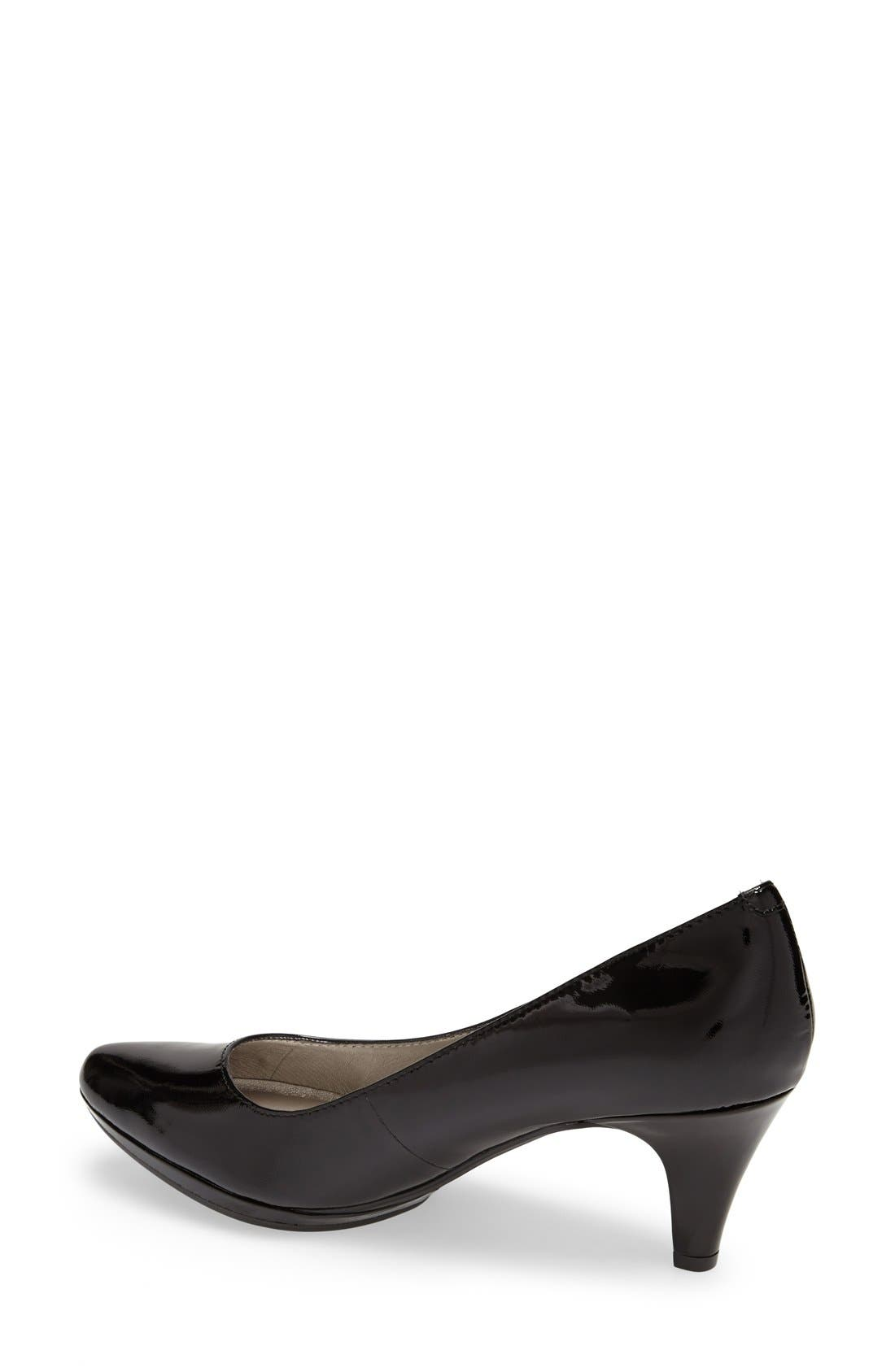 Alternate Image 2  - Me Too 'Andrea' Patent Leather Pump (Women)