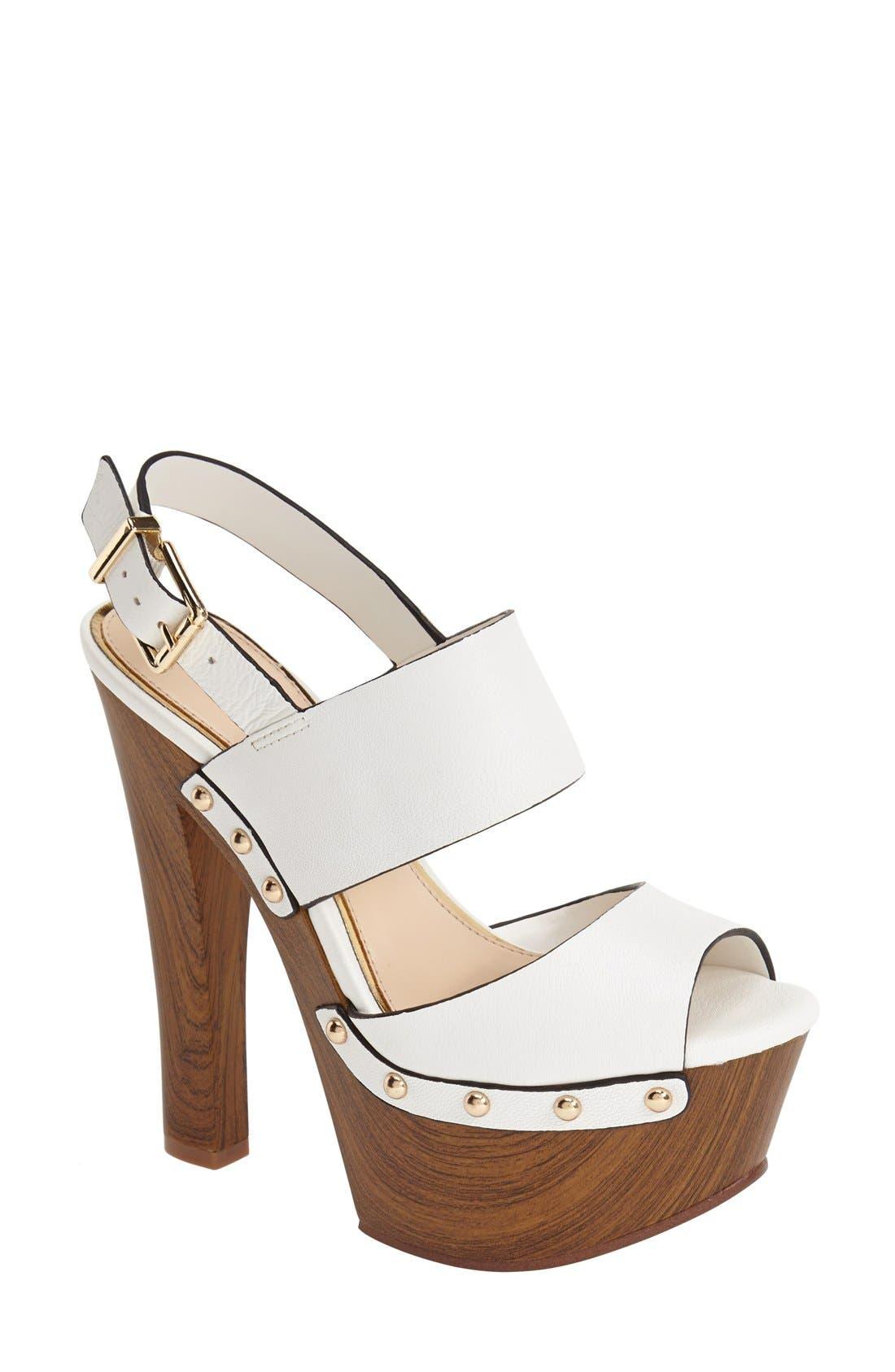 Alternate Image 1 Selected - Jessica Simpson 'Dallis' Platform Sandal (Women)