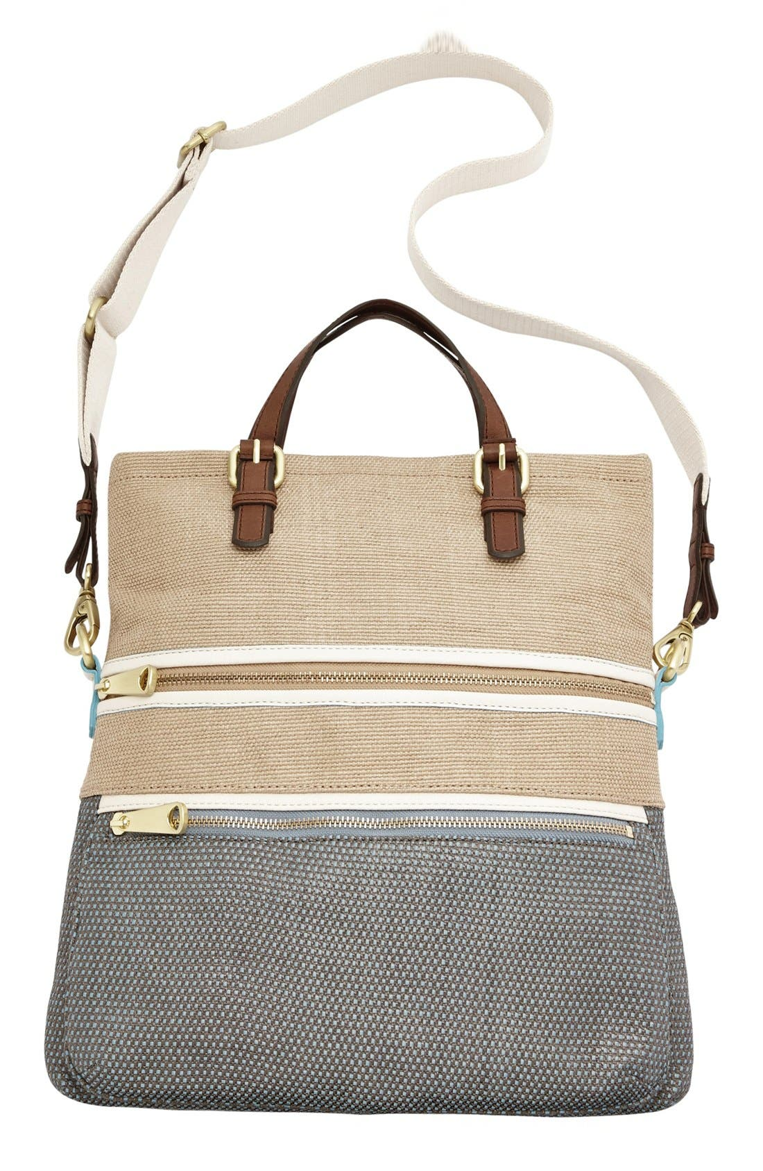 Alternate Image 5  - Fossil 'Explorer' Straw Tote