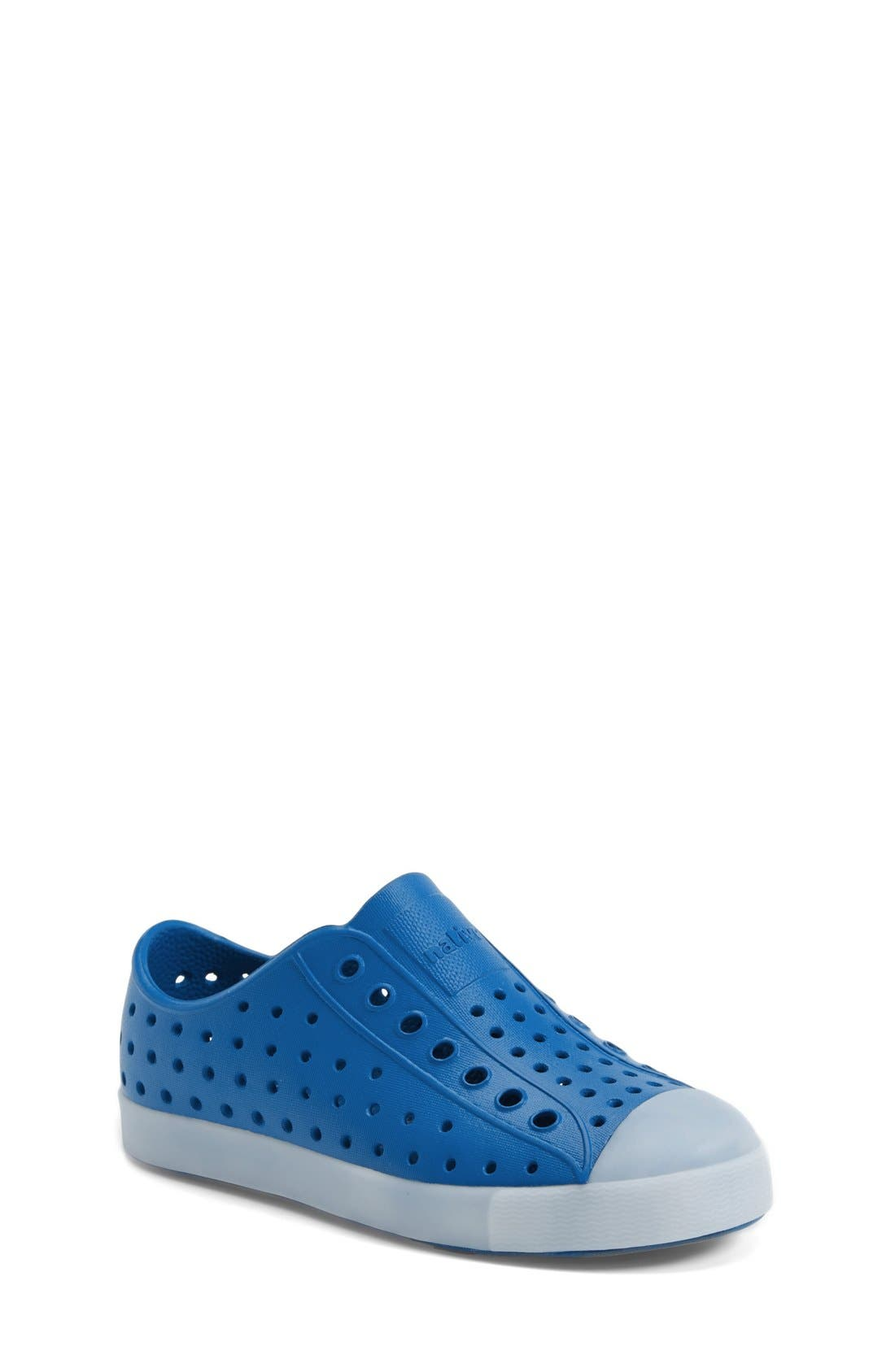 Alternate Image 1 Selected - Native Shoes Jefferson - Glow in the Dark Sneaker (Walker, Toddler & Little Kid)