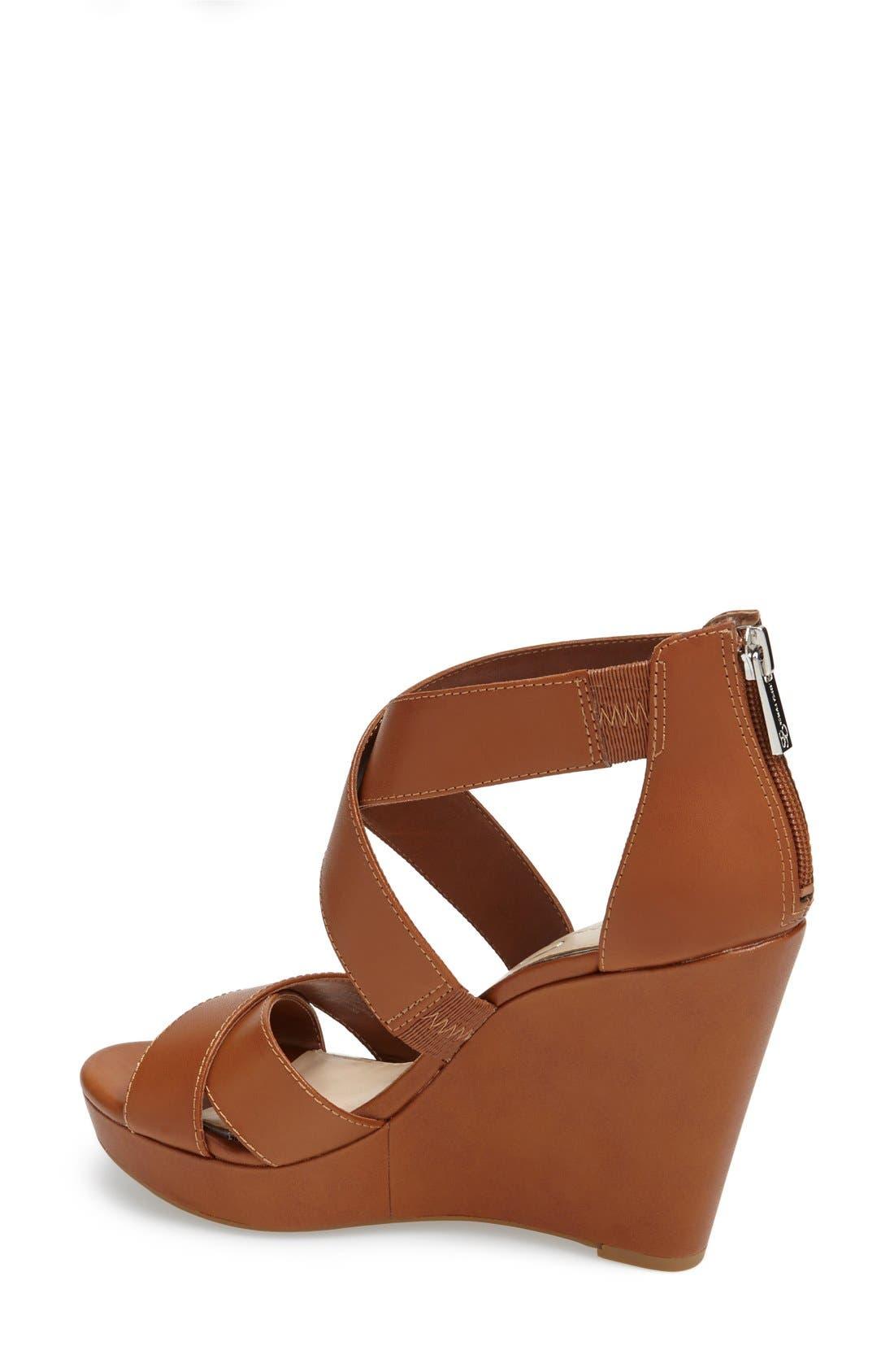 Alternate Image 2  - Jessica Simpson 'Jadyn' Strappy Wedge Sandal (Women)