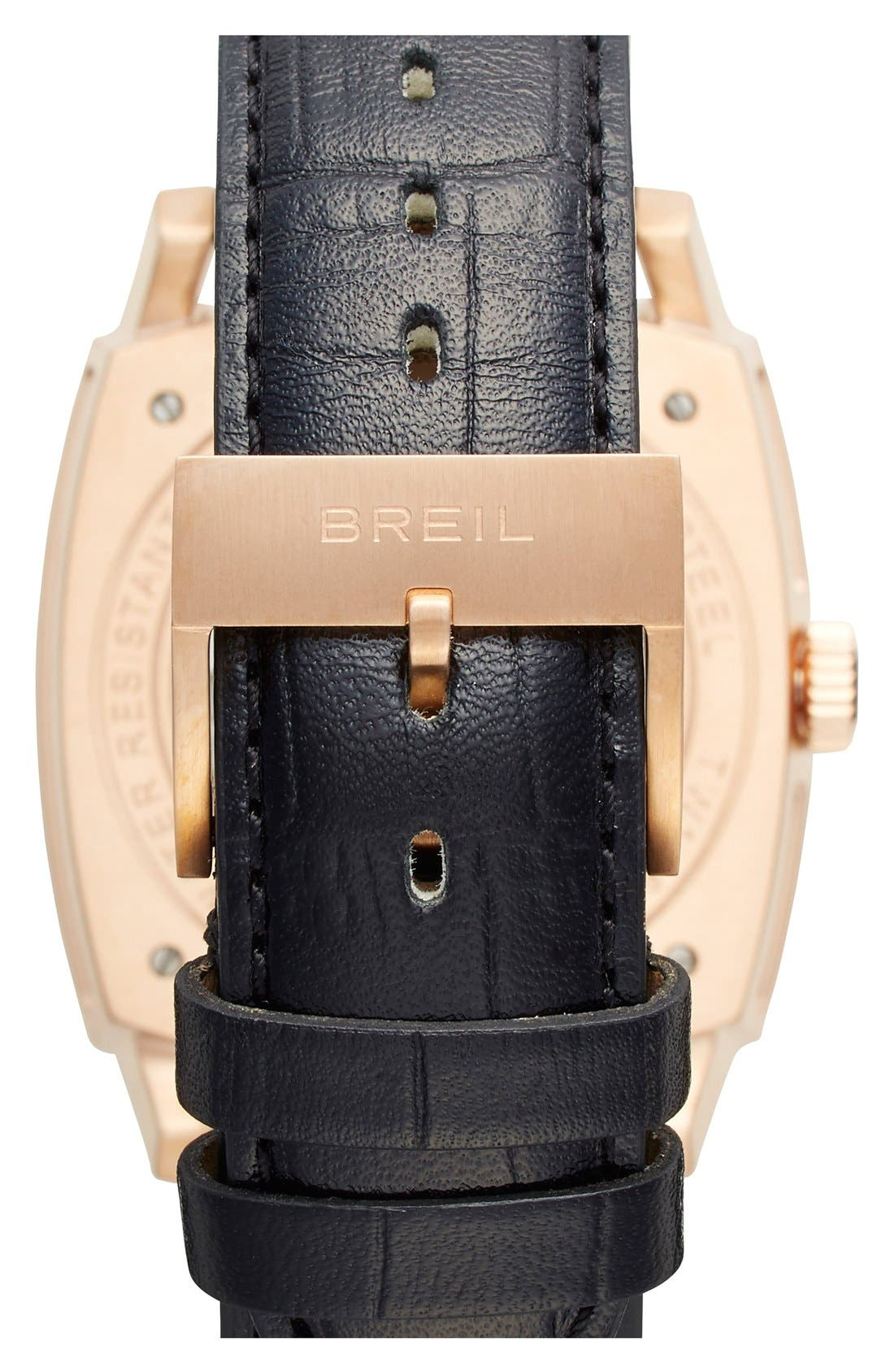 Alternate Image 2  - Breil 'Orchestra' Square Automatic Watch, 42mm