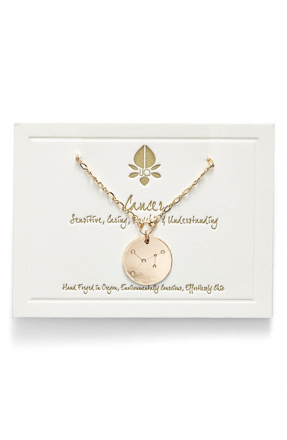 Ija 'Large Zodiac' 14k-Gold Fill Necklace