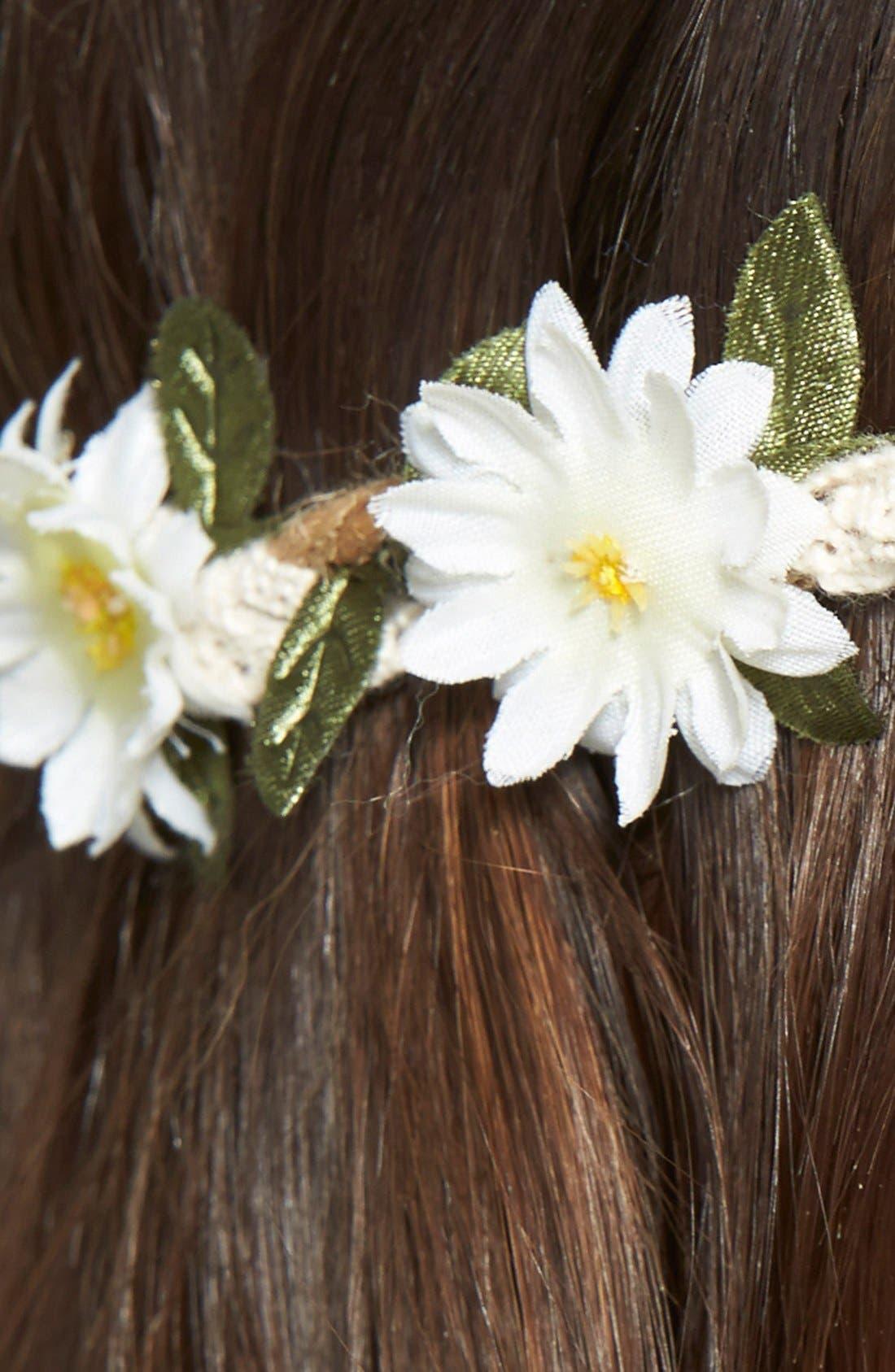 Alternate Image 3  - BP. Daisy Rope Headband (Juniors)