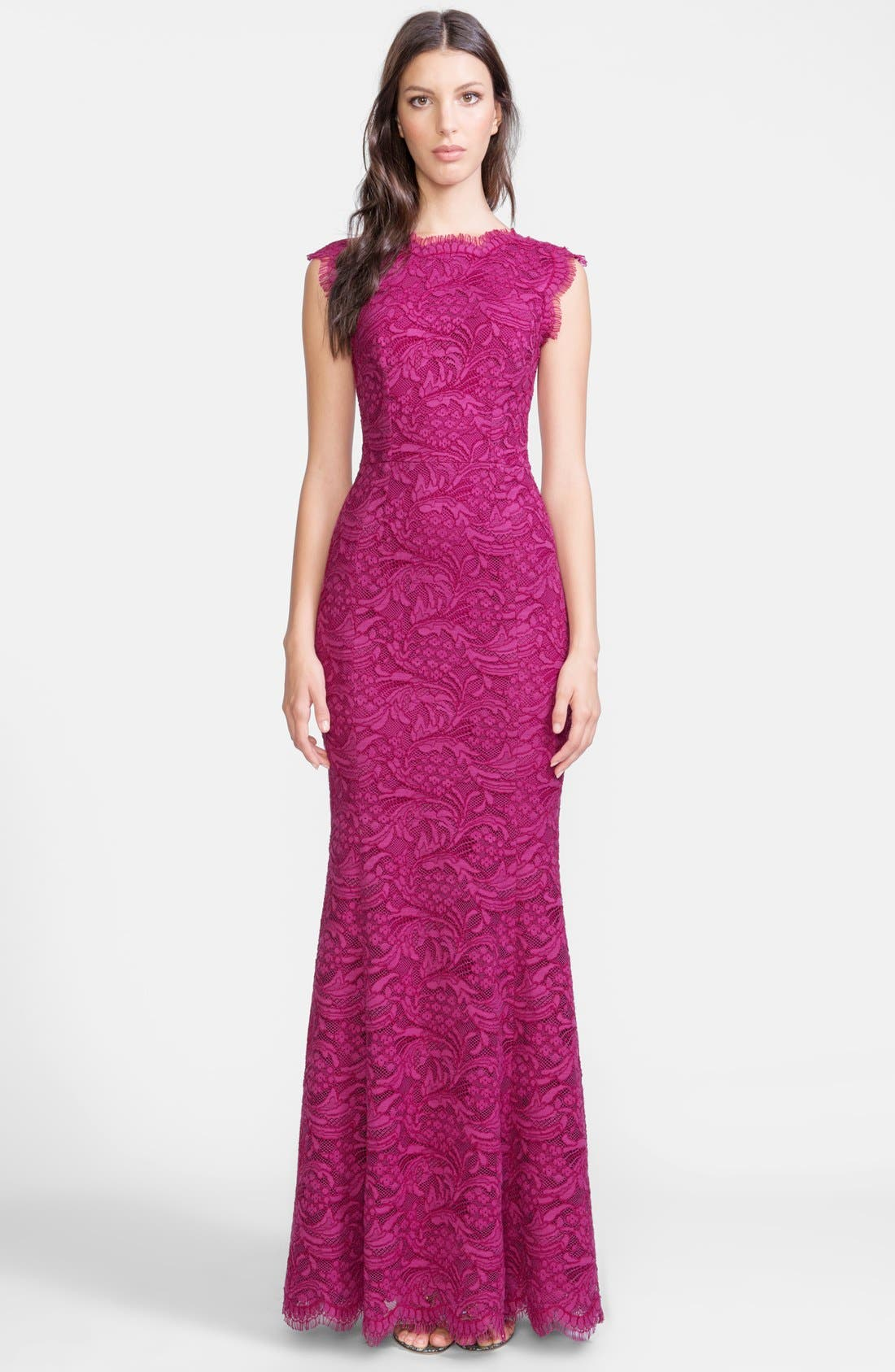 Alternate Image 1 Selected - Dolce&Gabbana Lace Trumpet Gown
