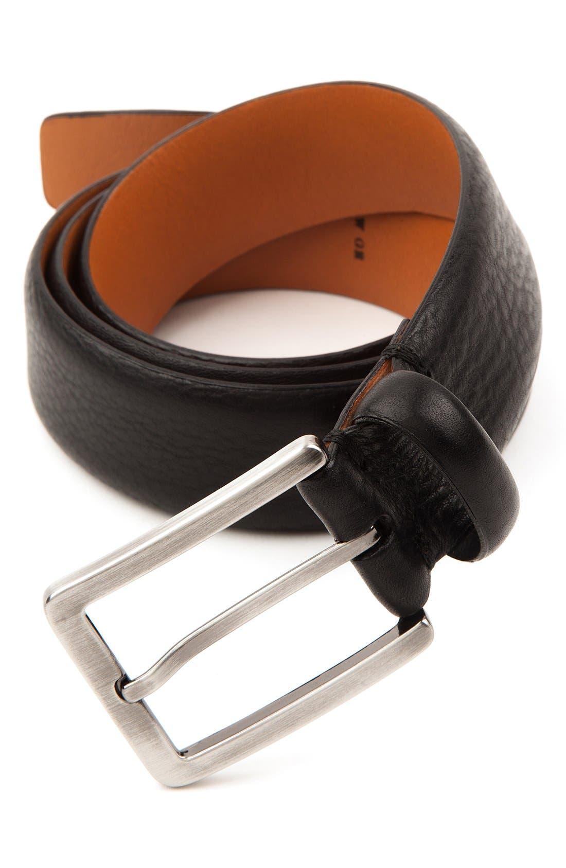 Alternate Image 2  - Trafalgar 'Kane' Leather Belt