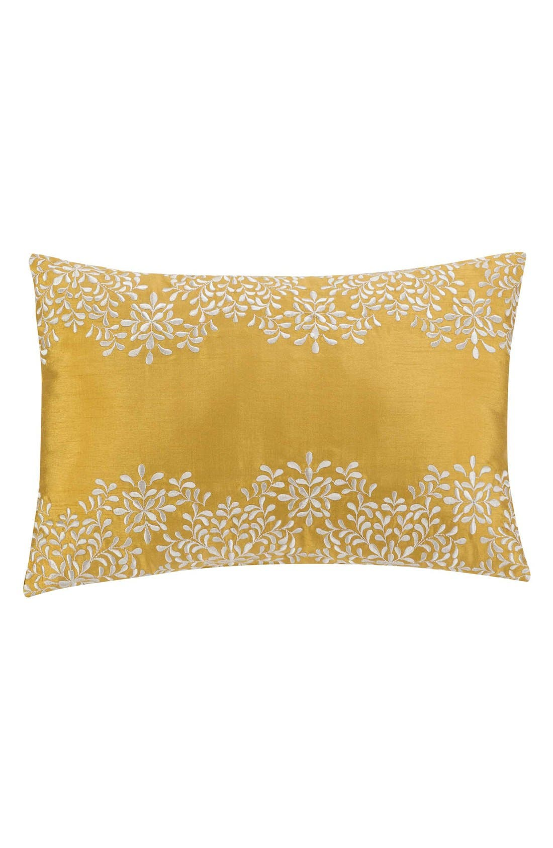 Alternate Image 1 Selected - KAS Designs 'Octavia' Embroidered Accent Pillow