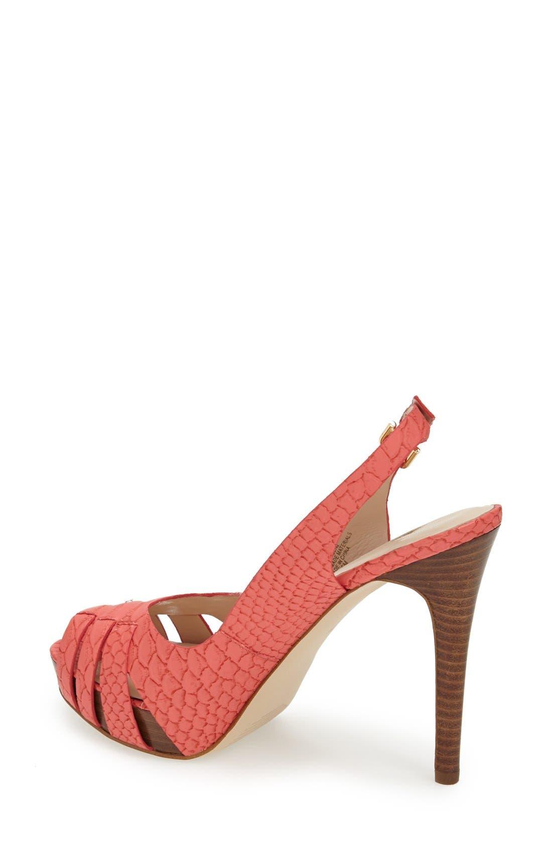 Alternate Image 2  - GUESS 'Haben' Peep Toe Platform Sandal (Women)