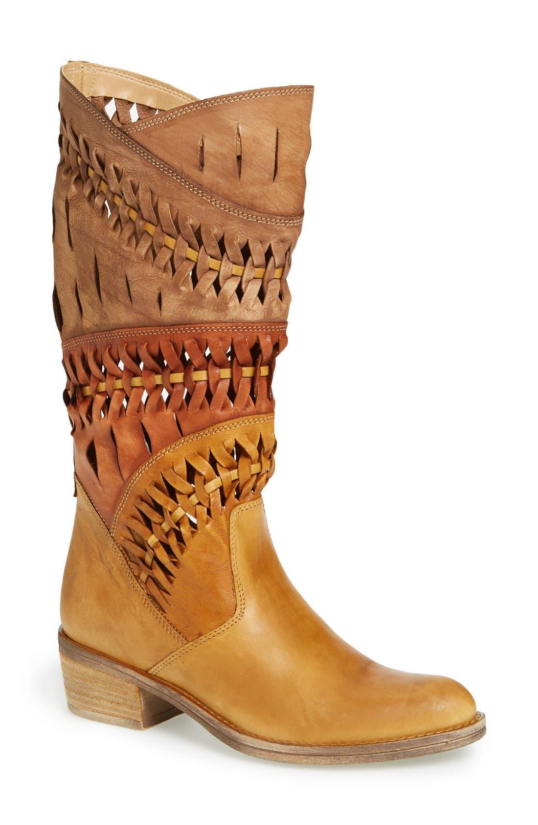 Main Image - Summit 'Tulia' Leather Western Boot (Women)