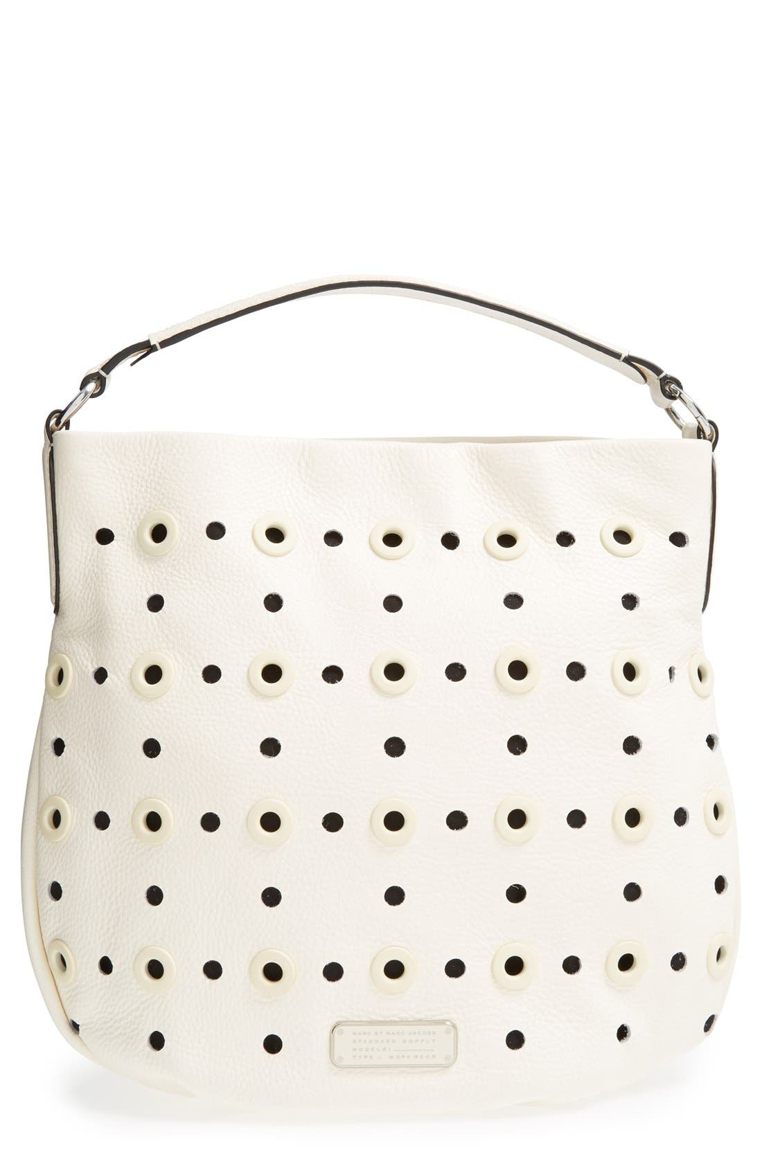 Main Image - MARC BY MARC JACOBS 'New Q Hillier - Grommet' Hobo
