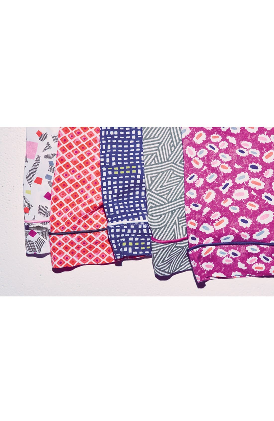 Alternate Image 5  - DKNY Print Capri Pajamas