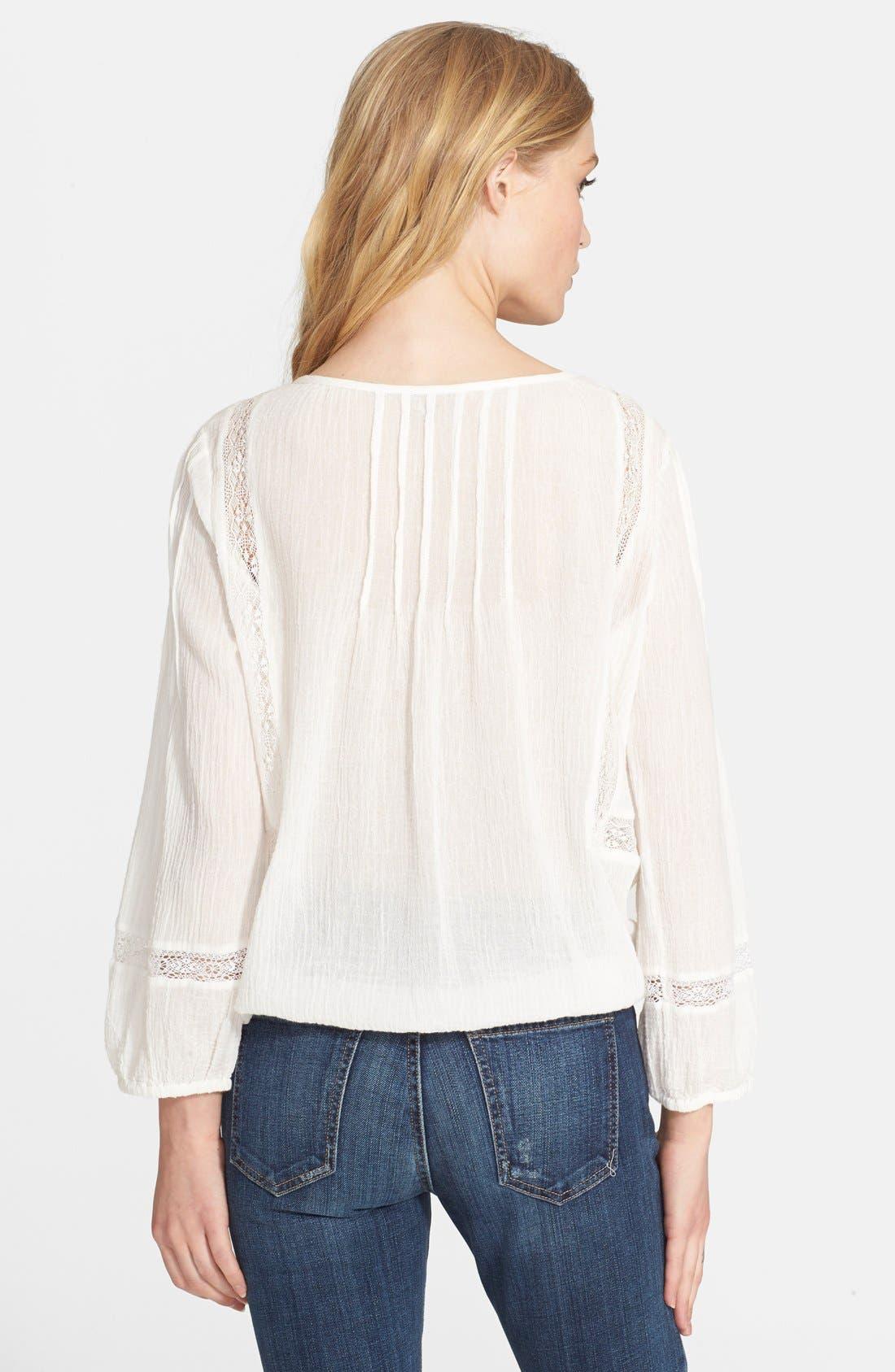 Alternate Image 2  - Joie 'Arcene' Cotton Peasant Top