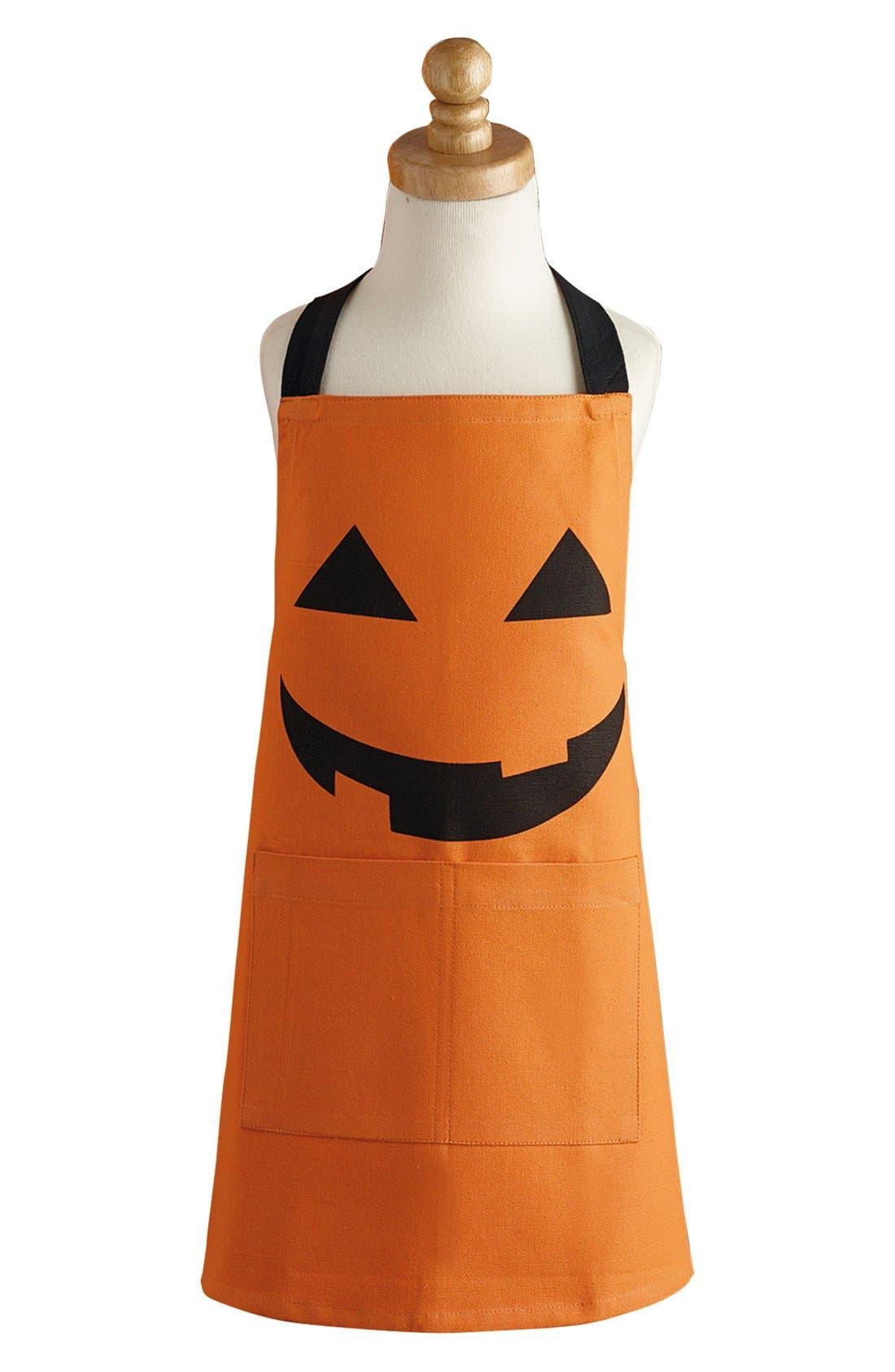 Main Image - Design Imports Halloween Apron (Kids)