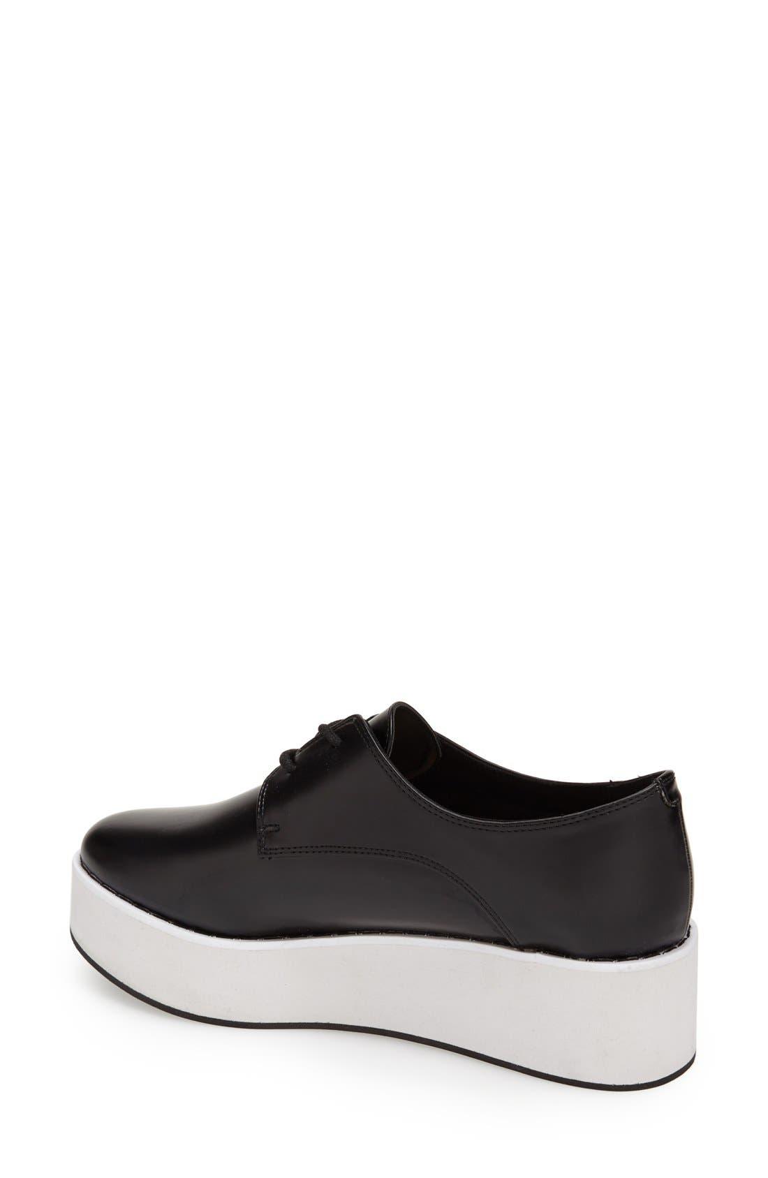 Alternate Image 2  - Topshop 'Kisser Eva' Platform Sneaker (Women)